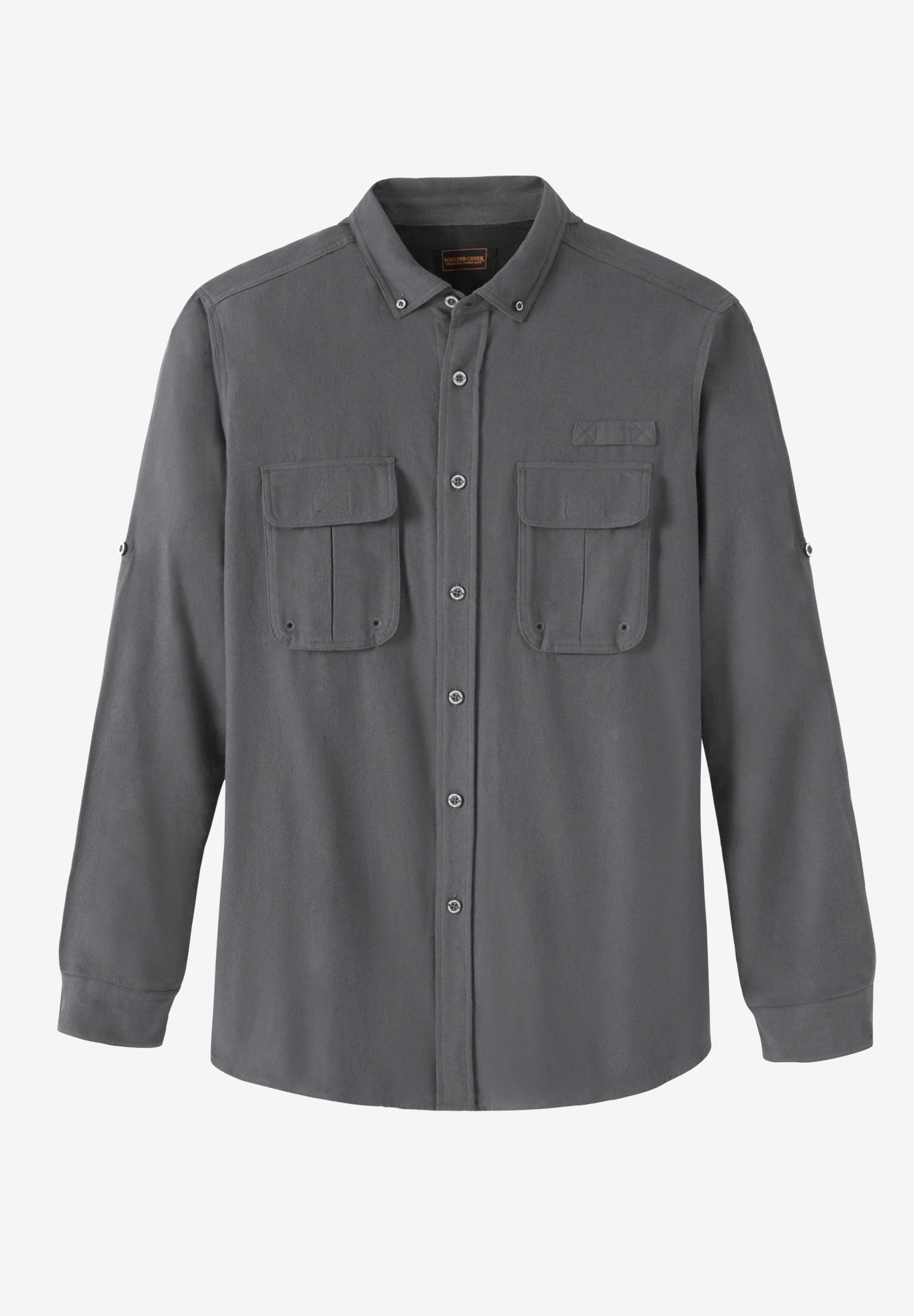 Off-Shore Flannel Shirt by Boulder Creek®,