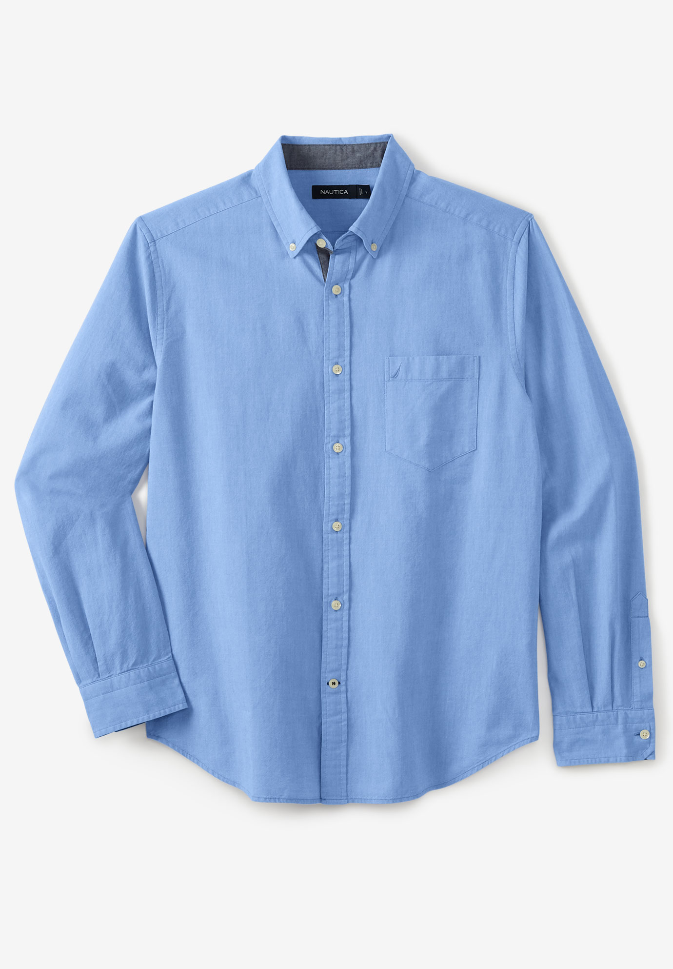 Nautica® Classic Fit Stretch Oxford Shirt,