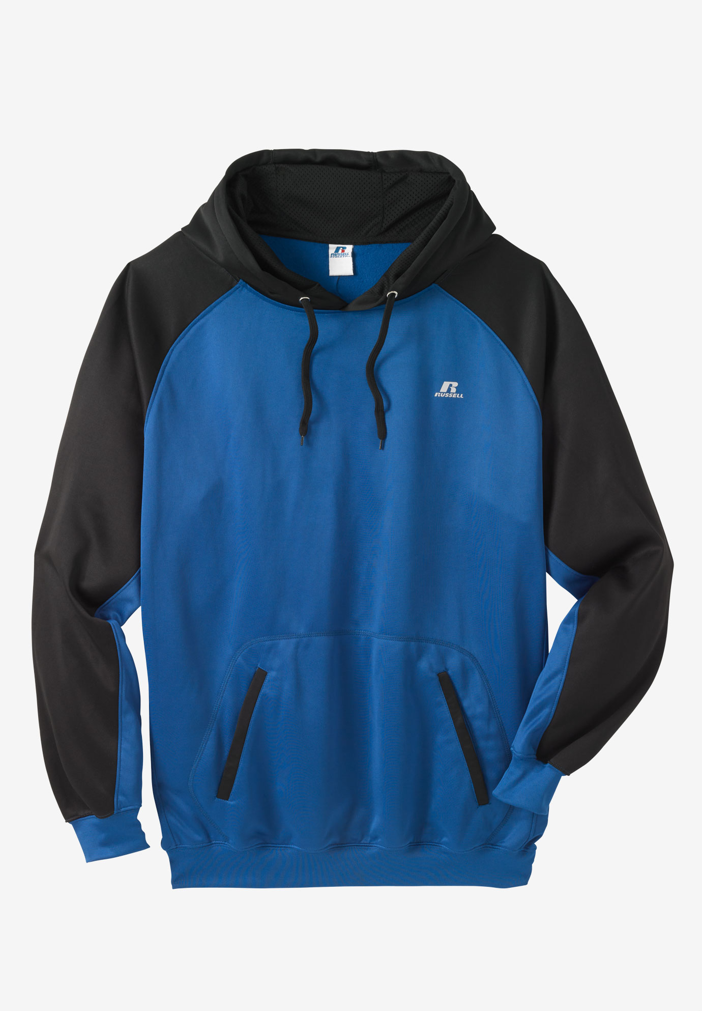 Poly Fleece Raglan Pullover Hoodie by Russell Athletic®,