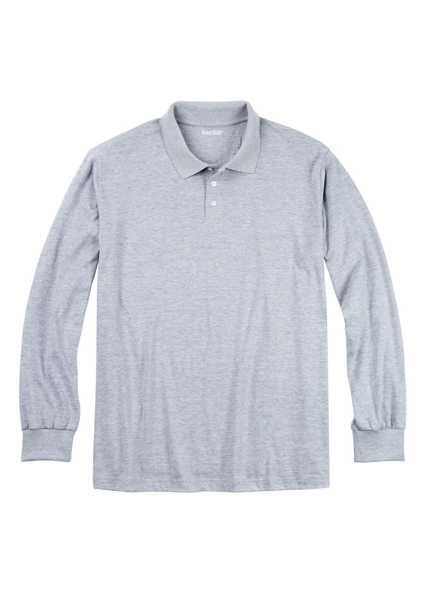 8a510528c3f Shrink-Less  8482  Long Sleeve Polo
