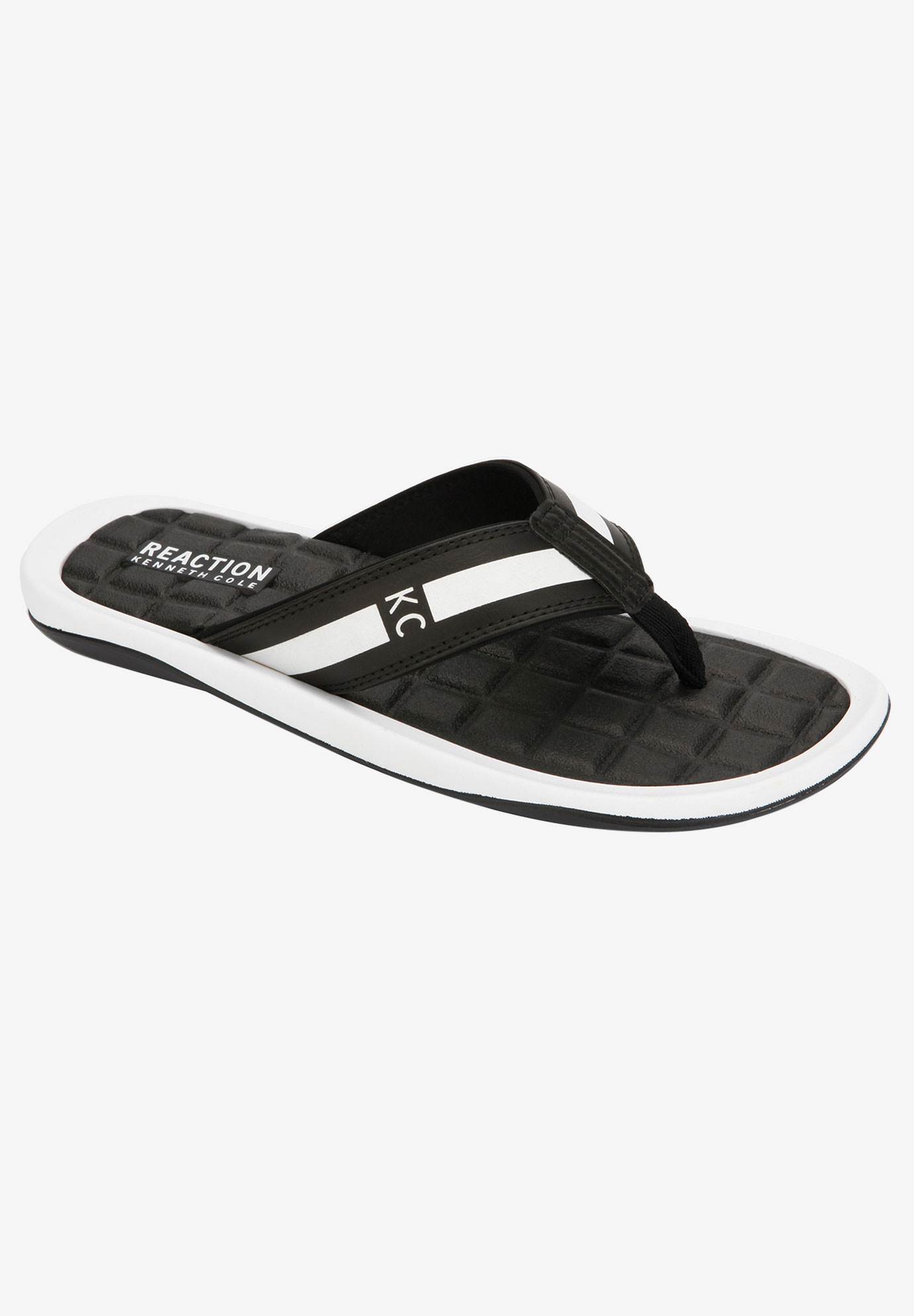 REACTION Kenneth Cole® Path-Way Four Thong Sandals,