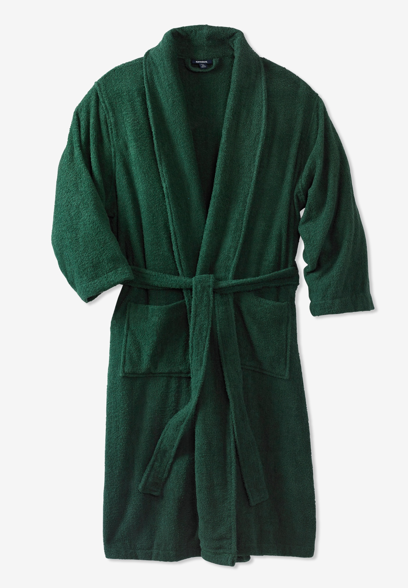 Terry Bathrobe with Pockets  64c832961