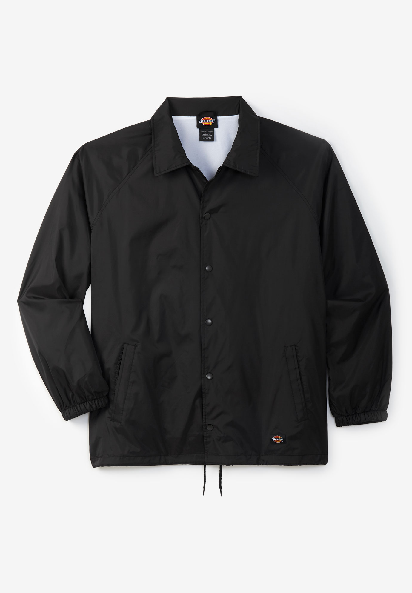 Dickies® Water-Resistant Snap Front Jacket,