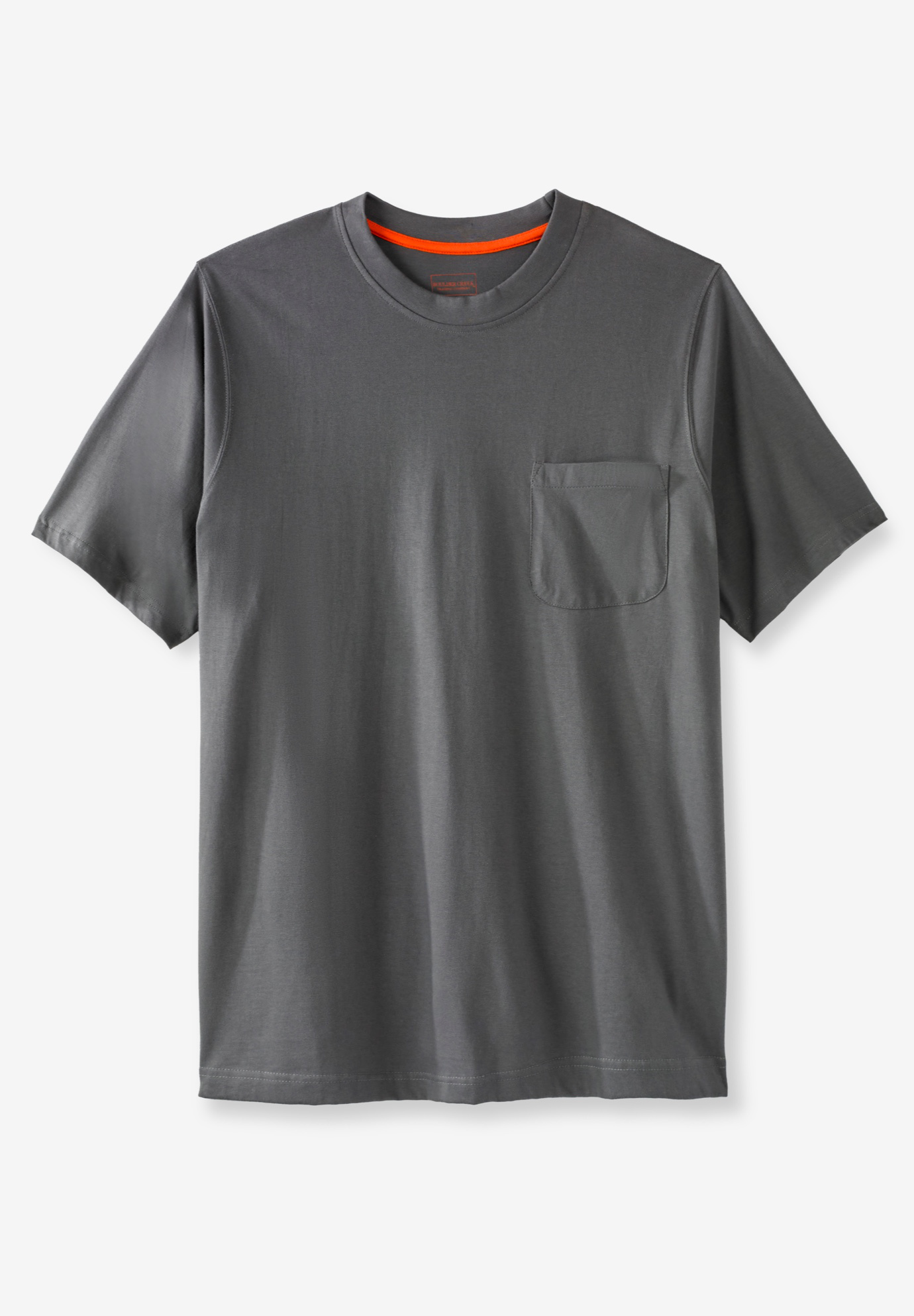 Boulder Creek® Heavyweight Crewneck Pocket T-Shirt,