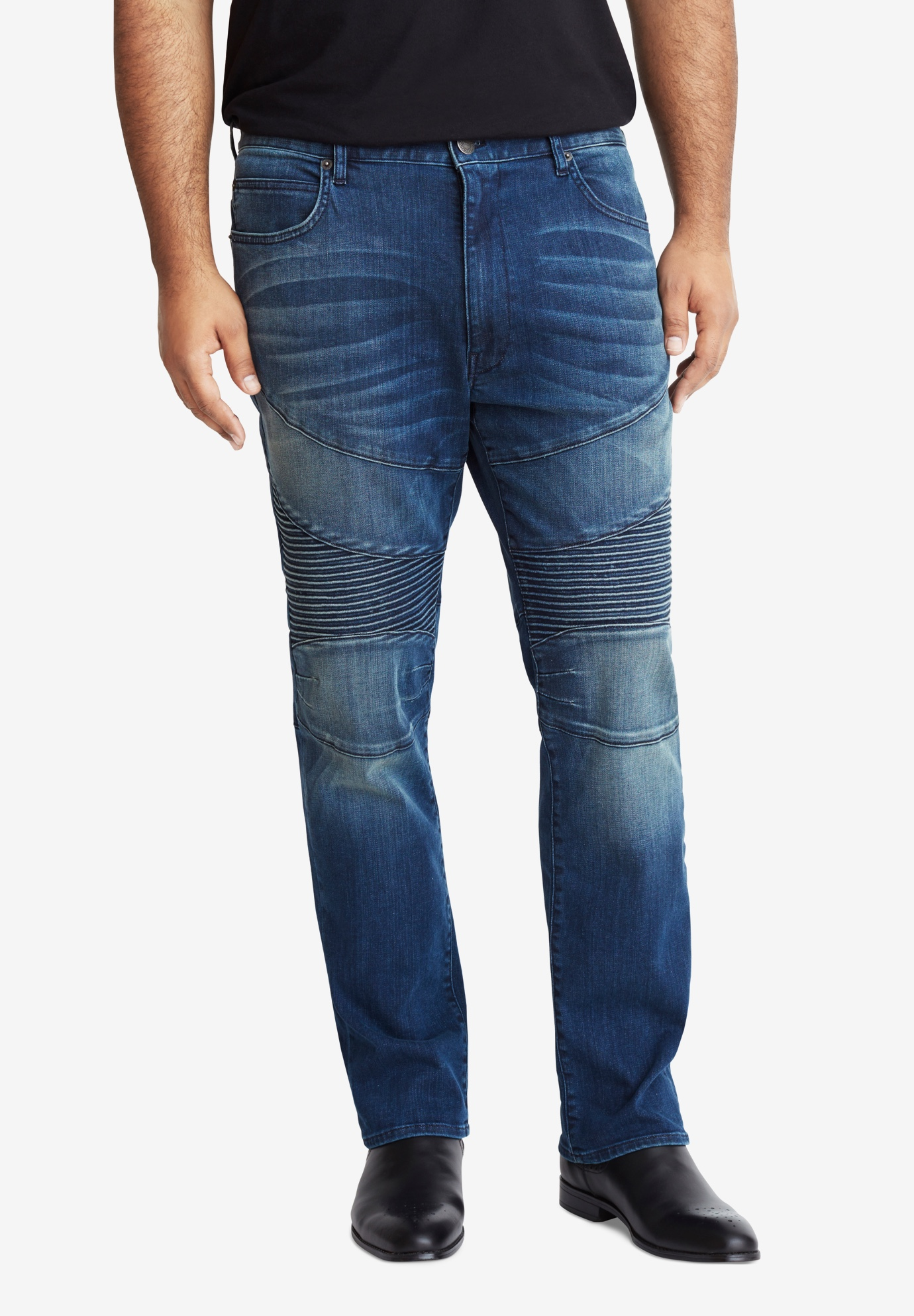 MVP Collections® Stretch Biker Jeans,