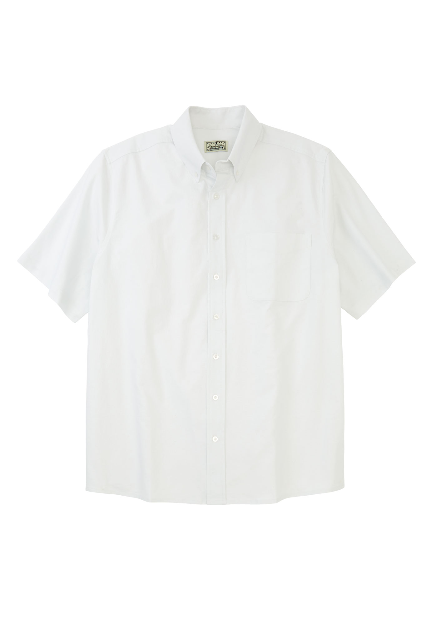 Short-Sleeve Stretch Oxford by Liberty Blues®,