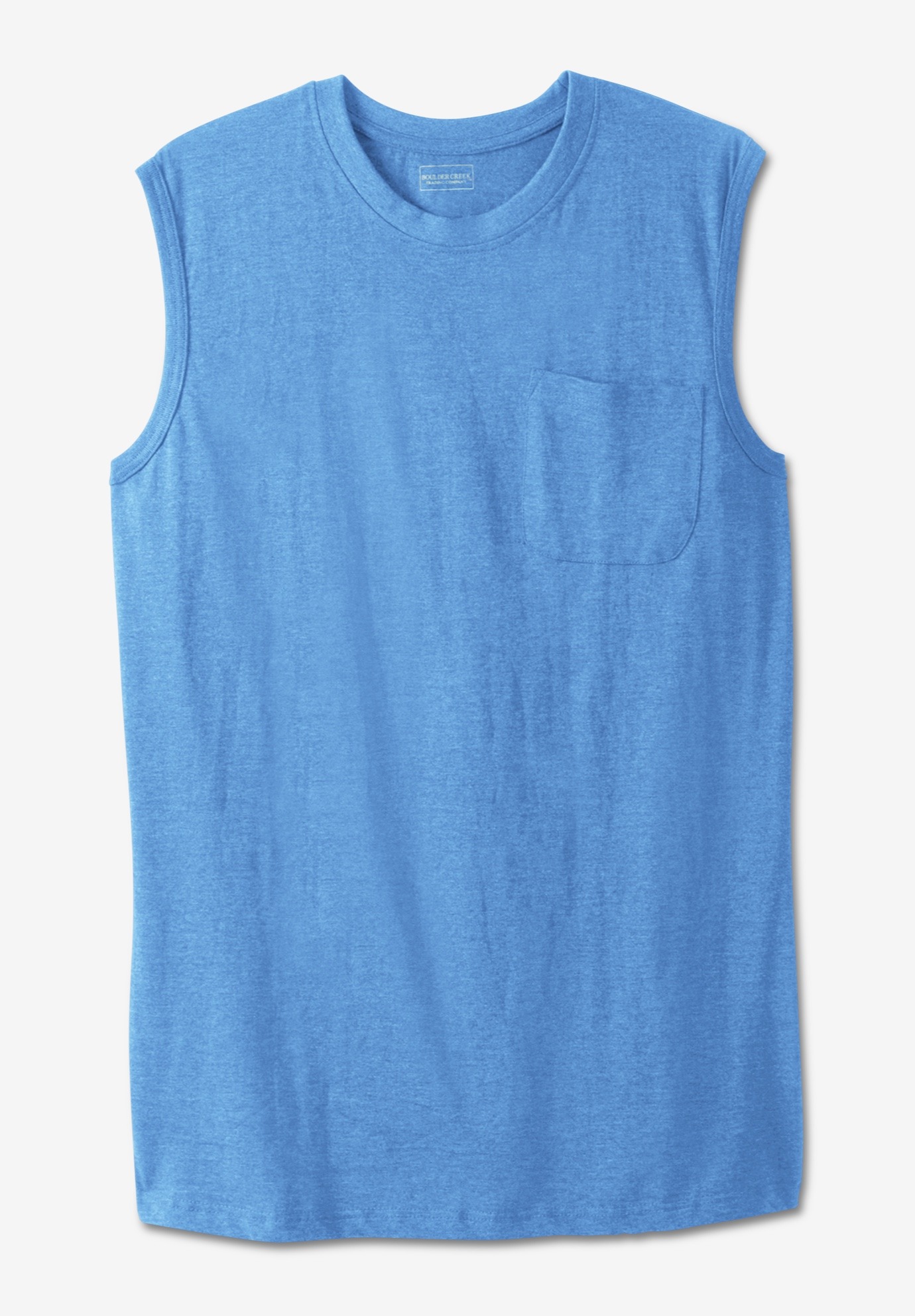Boulder Creek® Heavyweight Pocket Muscle Tee,