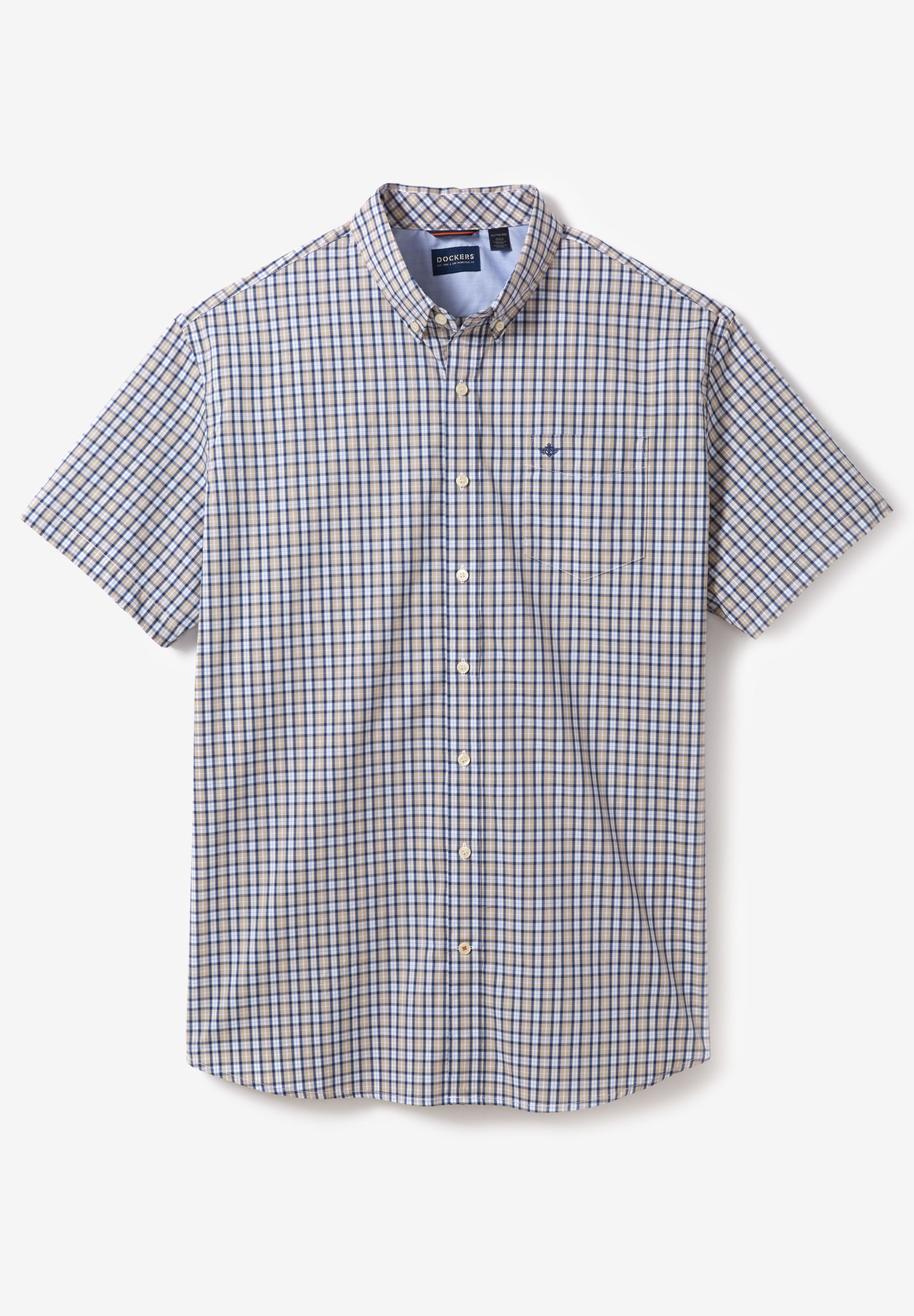 Dockers® Short-Sleeve Comfort Flex Woven Shirt,