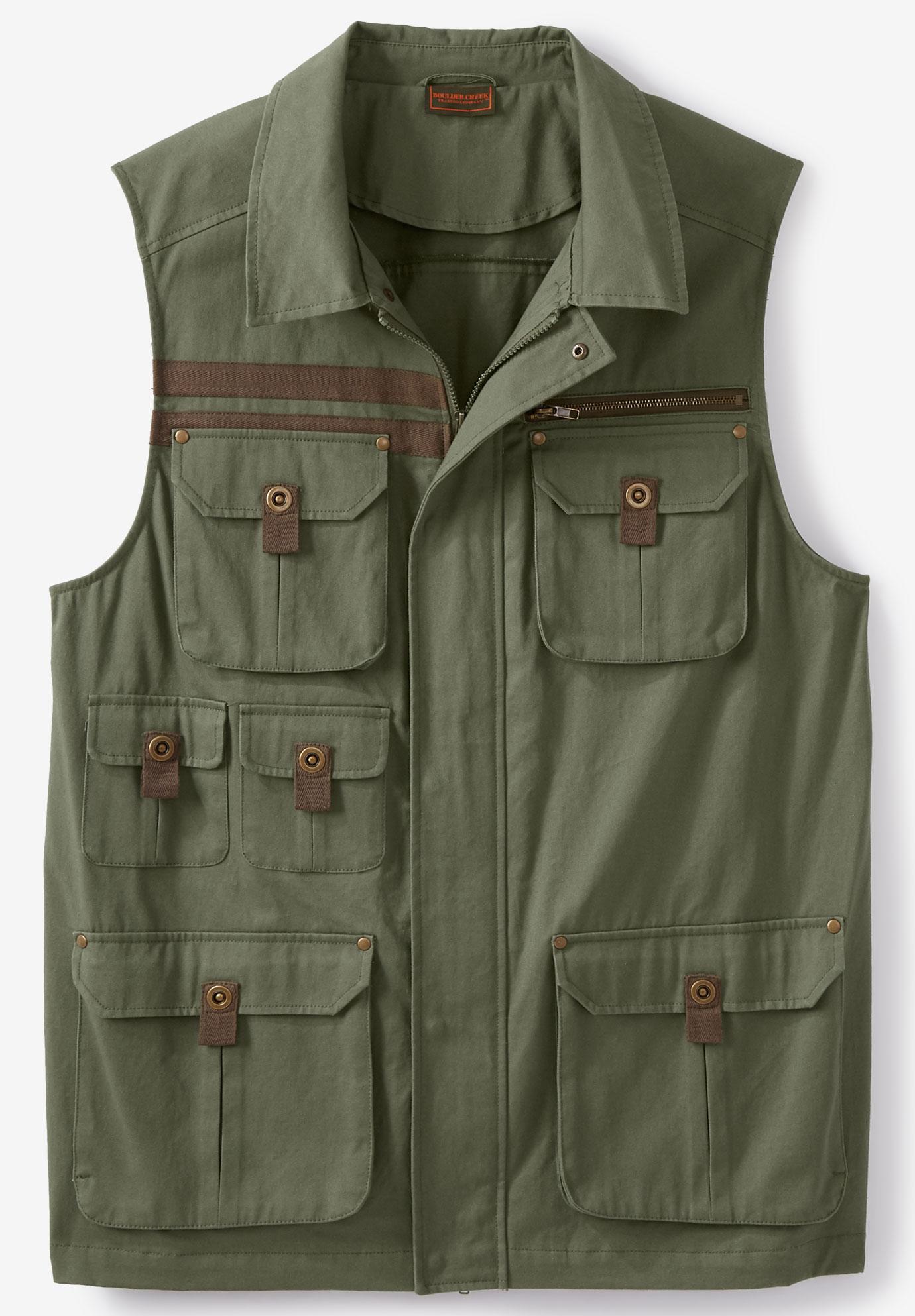 Western Leather Cowboy Vest