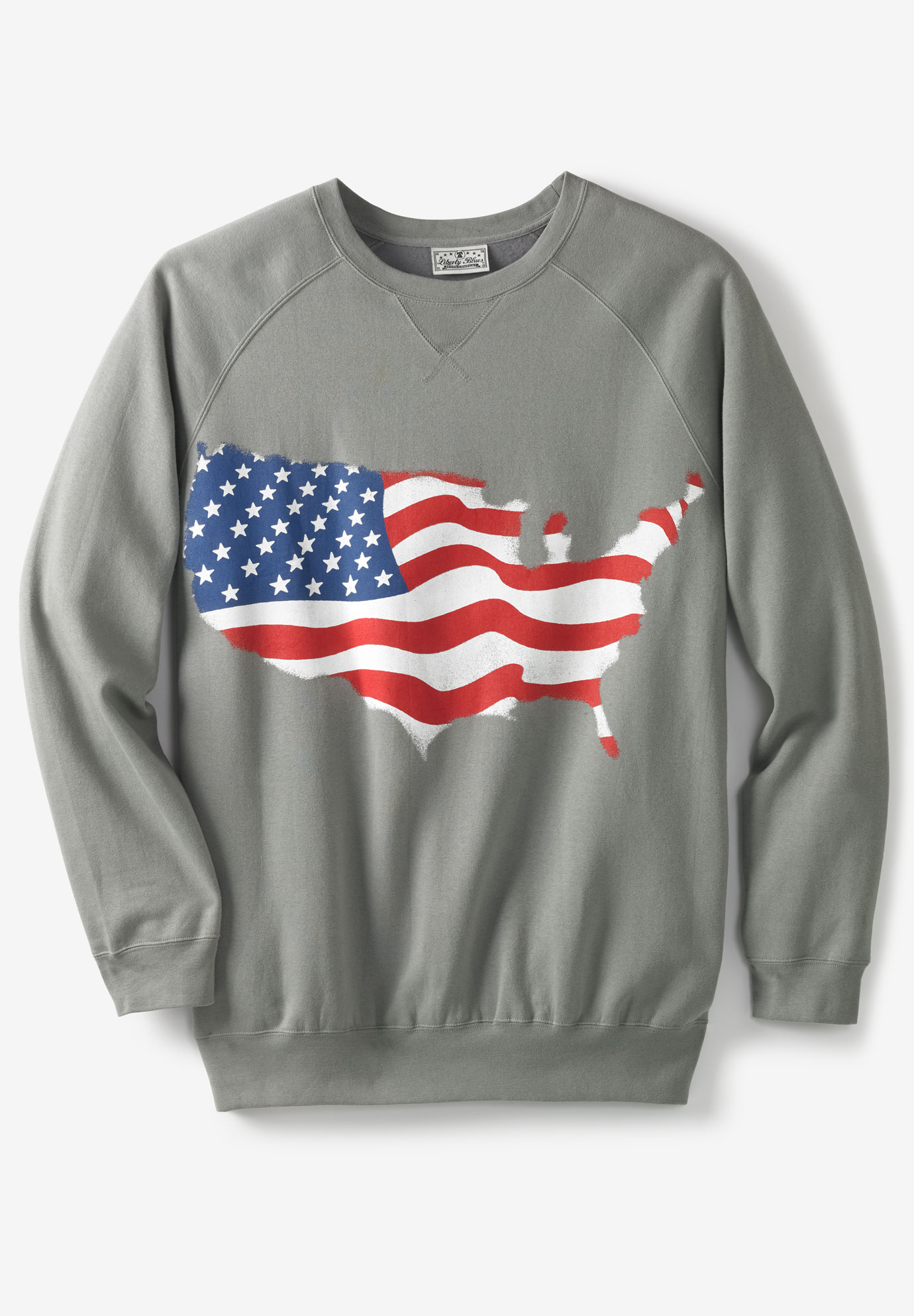 Liberty Blues® Fleece Crewneck Pullover,
