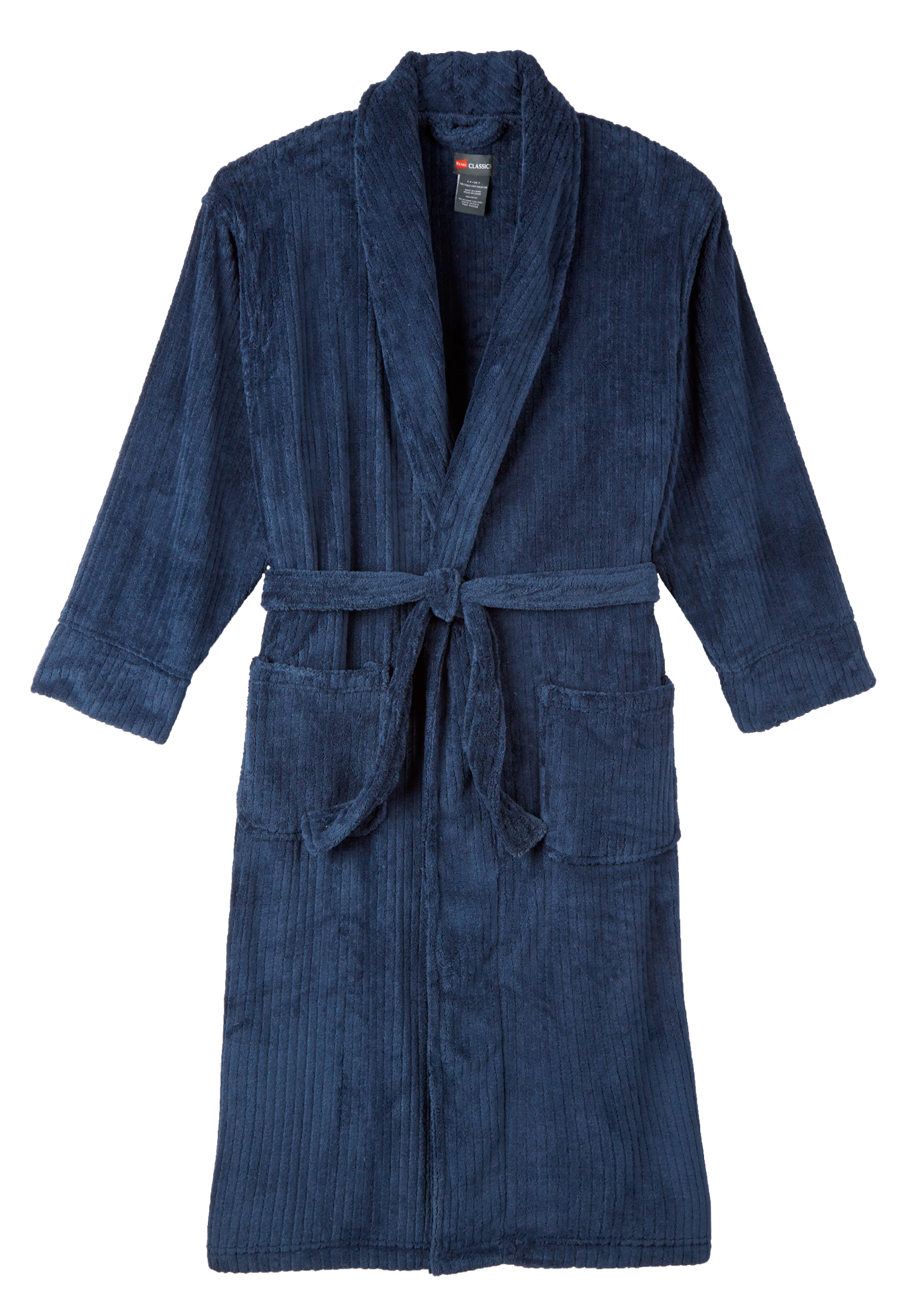 Hanes® Plush Fleece Robe,