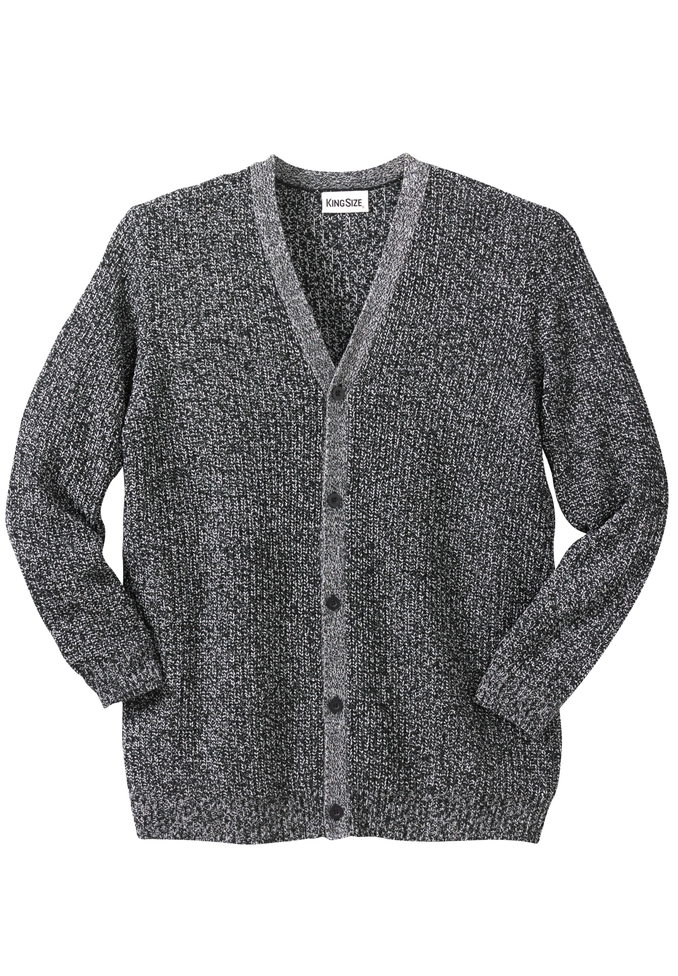Shaker Knit V-Neck Cardigan Sweater,