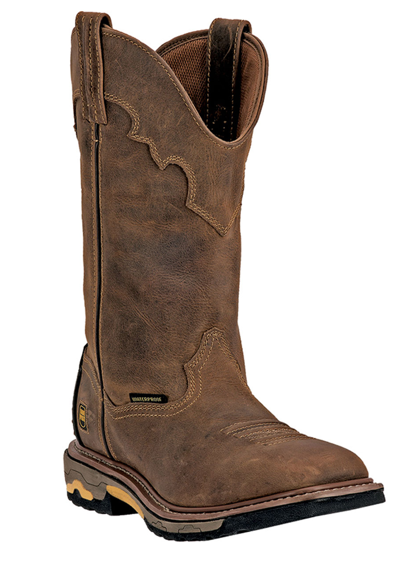 "Dan Post Blayde 11"" Shaft Distressed Soft Toe Boot,"
