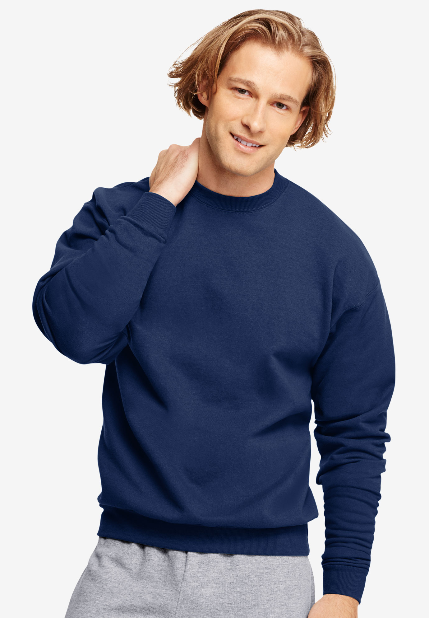 bd3d1f68 Hanes® ComfortBlend® EcoSmart® Crew Sweatshirt| Big and Tall ...
