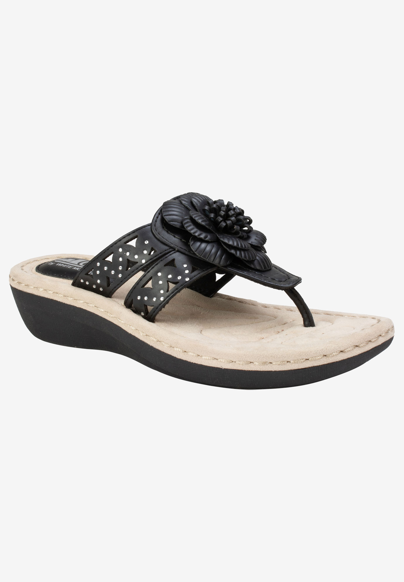 Cynthia Sandal by Cliffs by White Mountain,