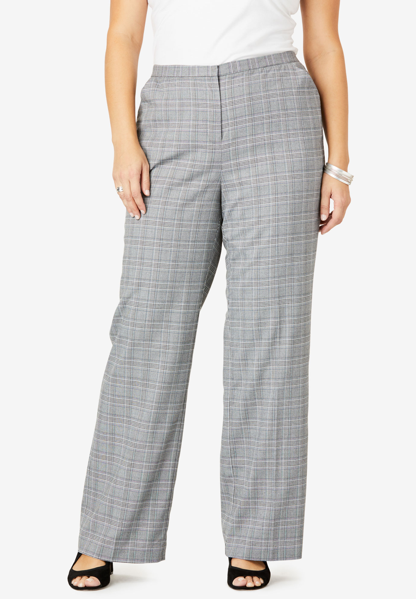 Suiting Wide-Leg Trouser,