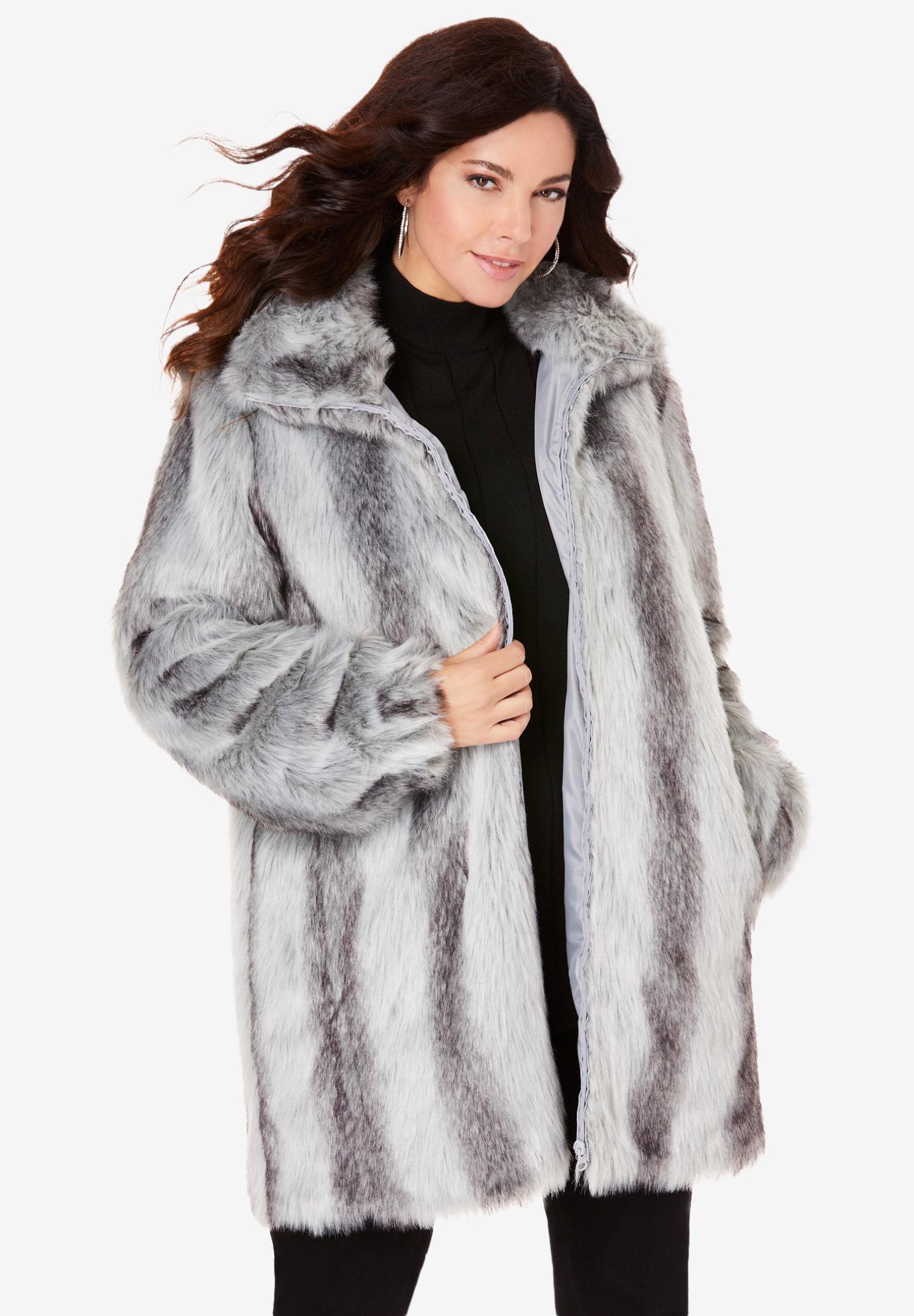 79ad241b31f Short Faux-Fur Coat