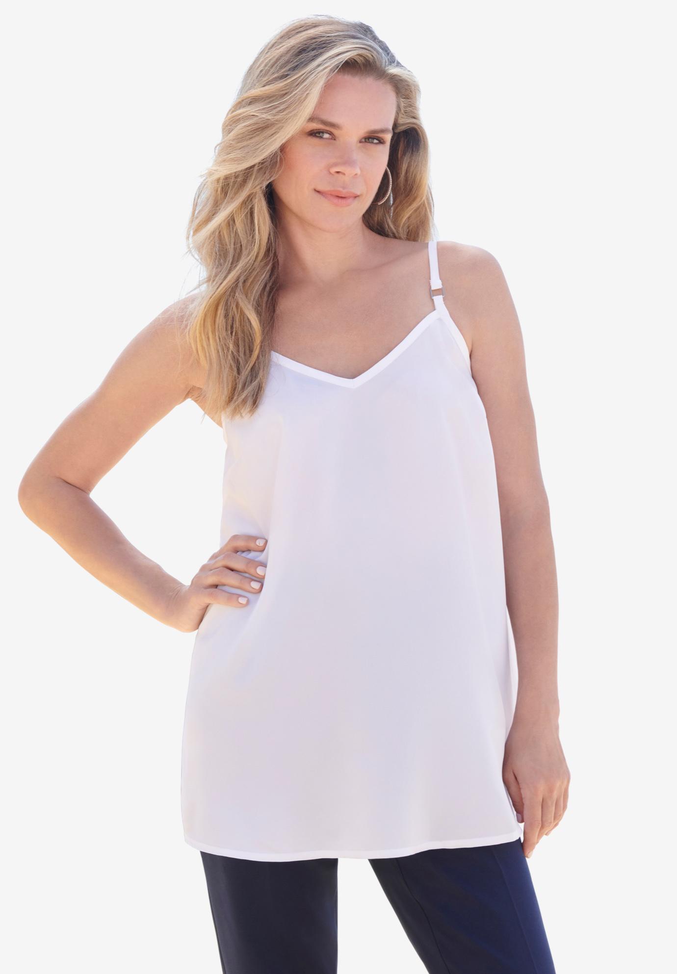 9228ed33b95 V-Neck Cami| Plus Size Sleeveless | Full Beauty