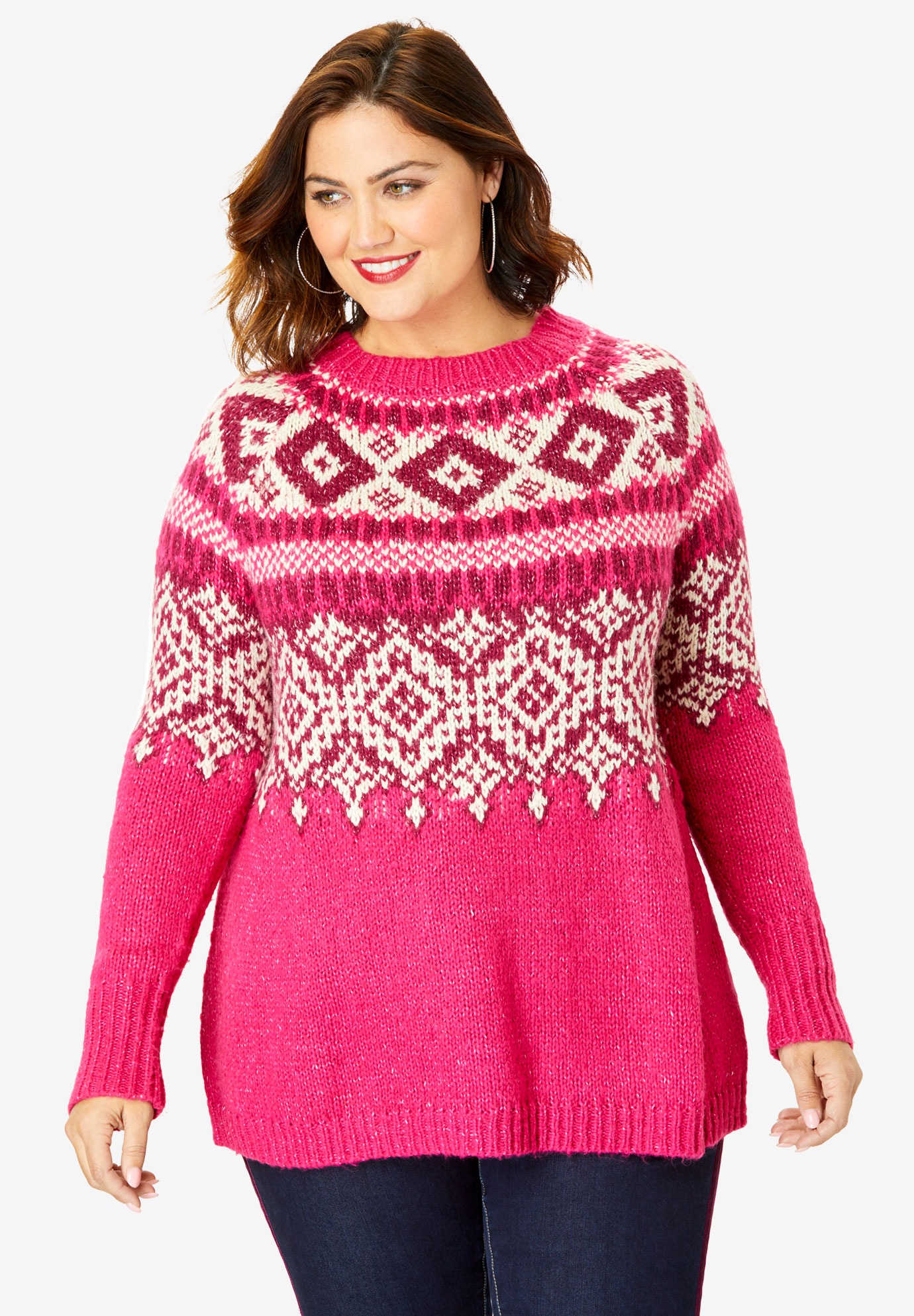 Fair Isle Sweater,