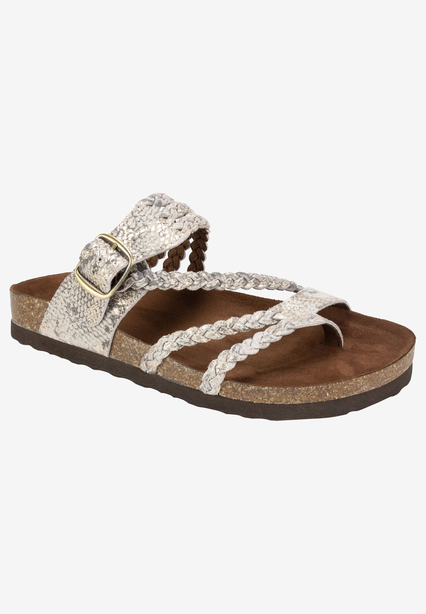 Hayleigh Sandal By White Mountain Plus Size Casual