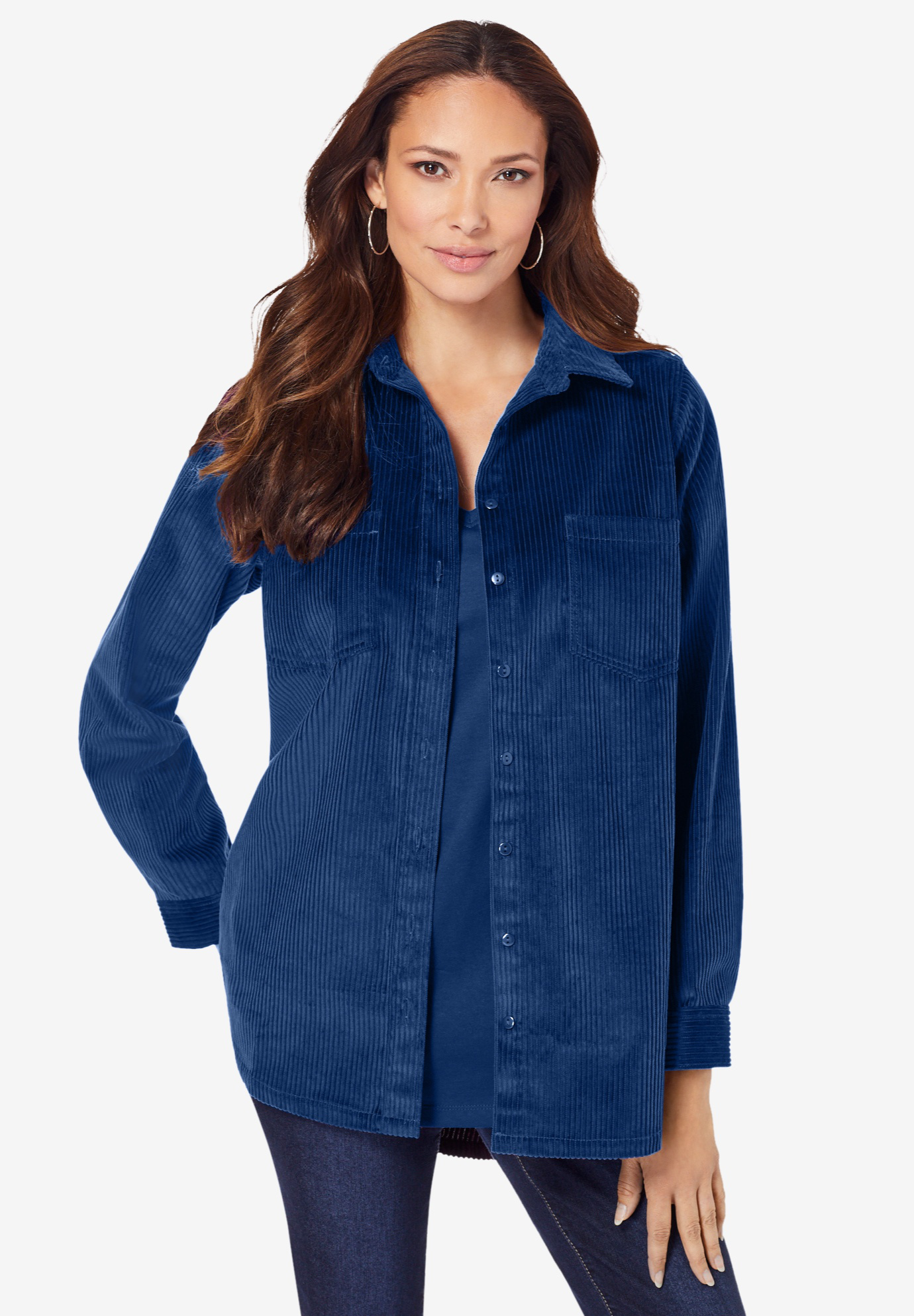 Corduroy Big Shirt,