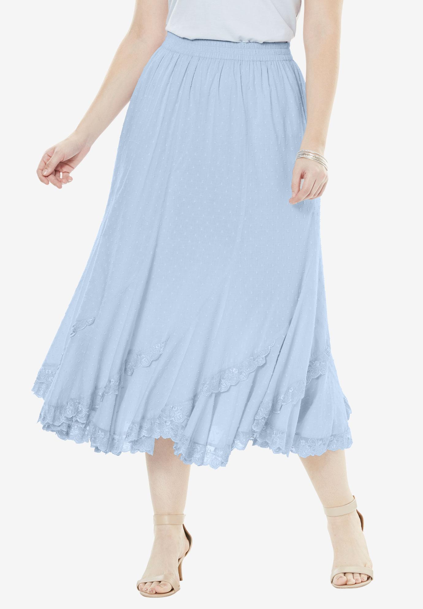 760afbf9309 Cotton Lace Skirt