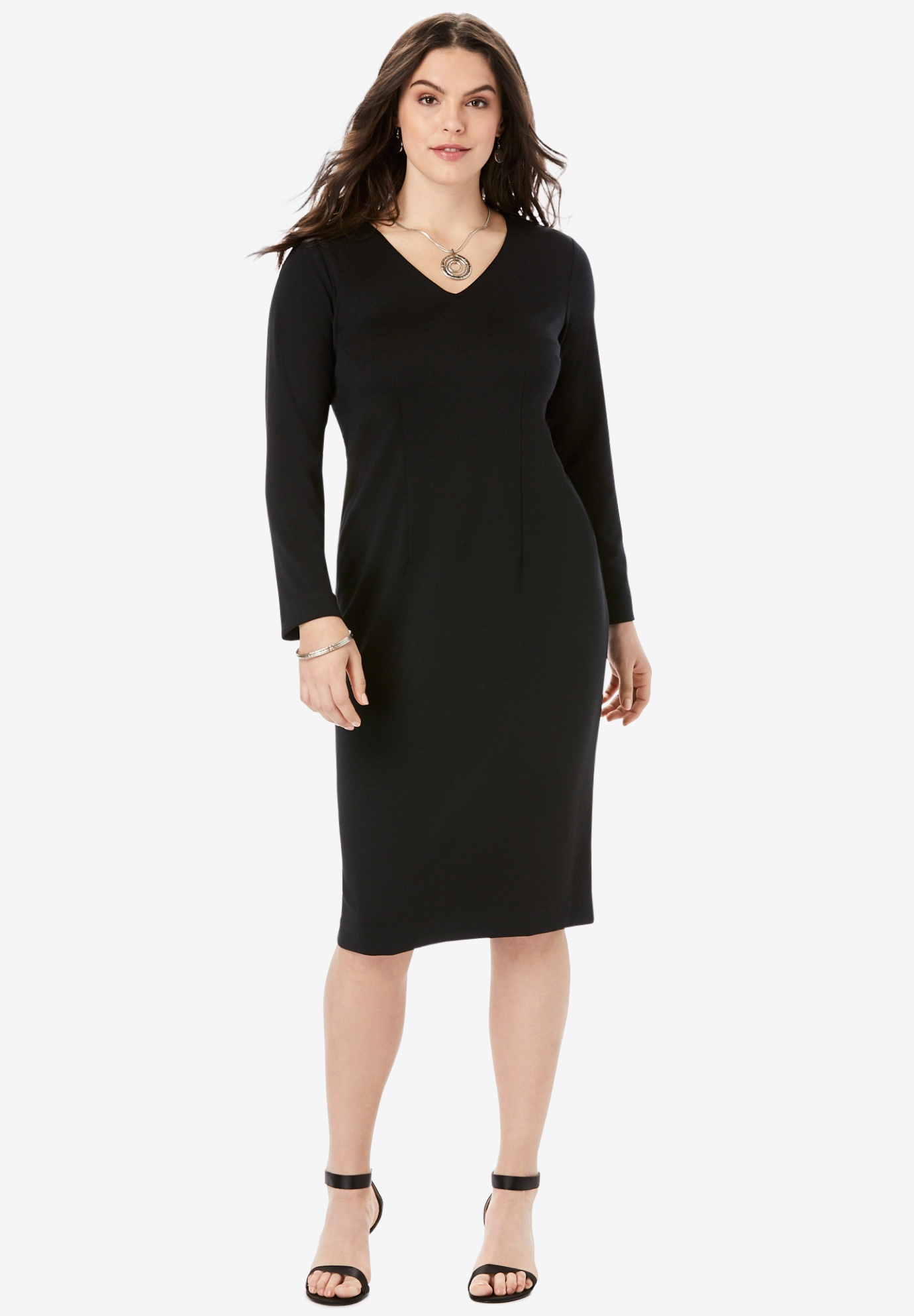 Ultimate Ponte Sheath Dress,