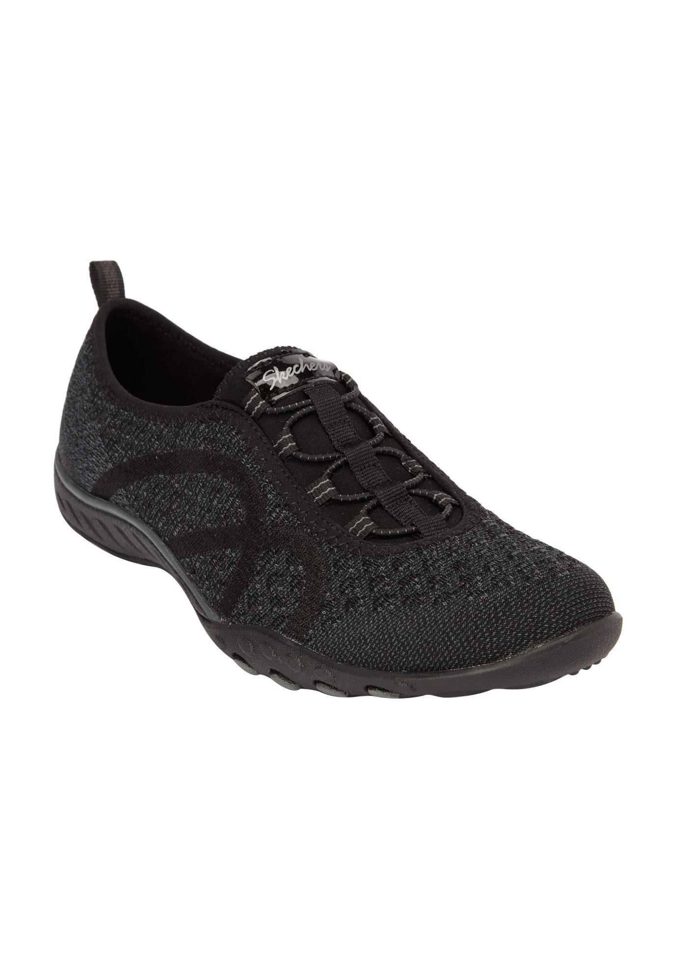 Skechers Breathe Easy Fortune Knit Slip On Sneaker
