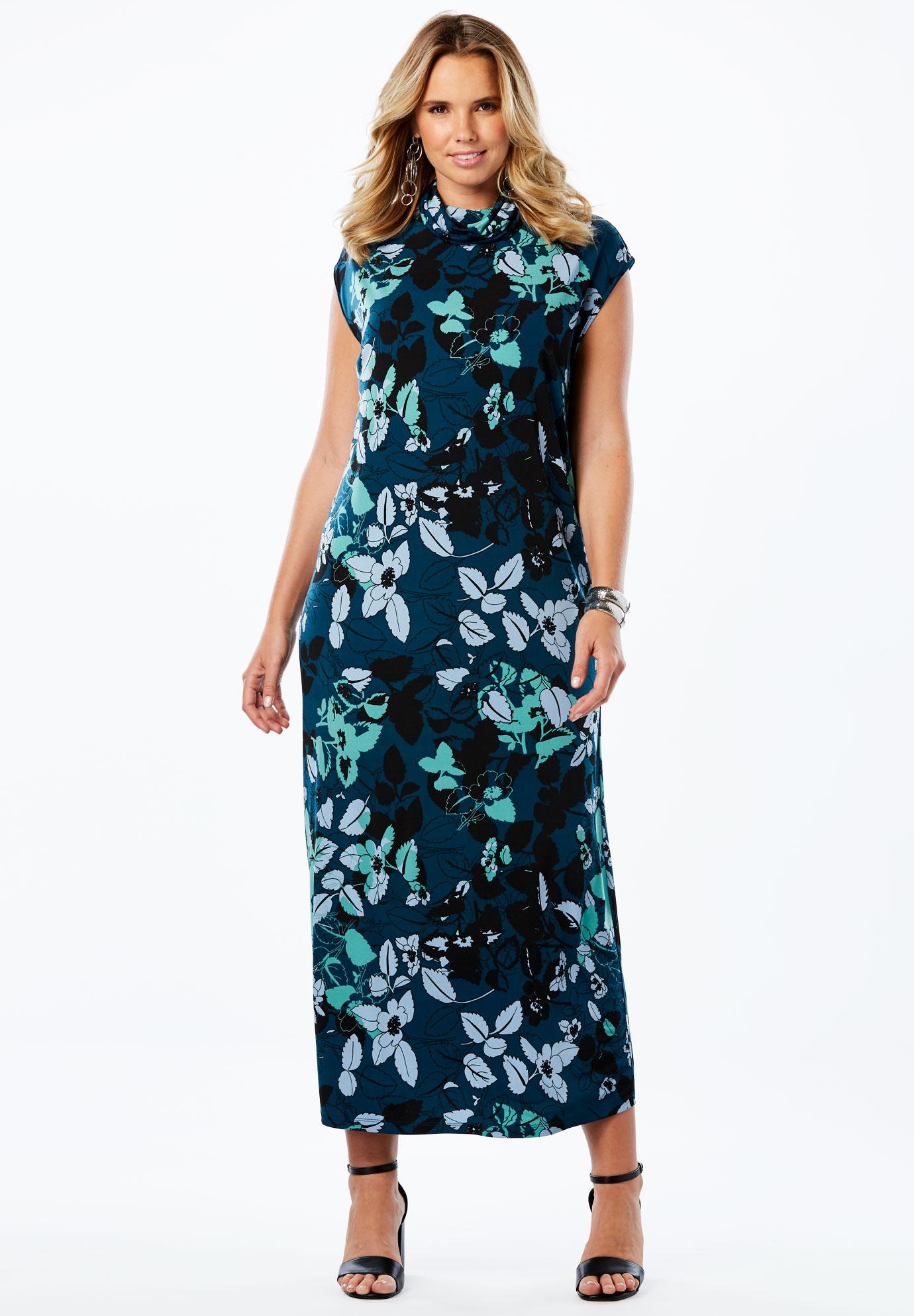 Slouchy Turtleneck Dress