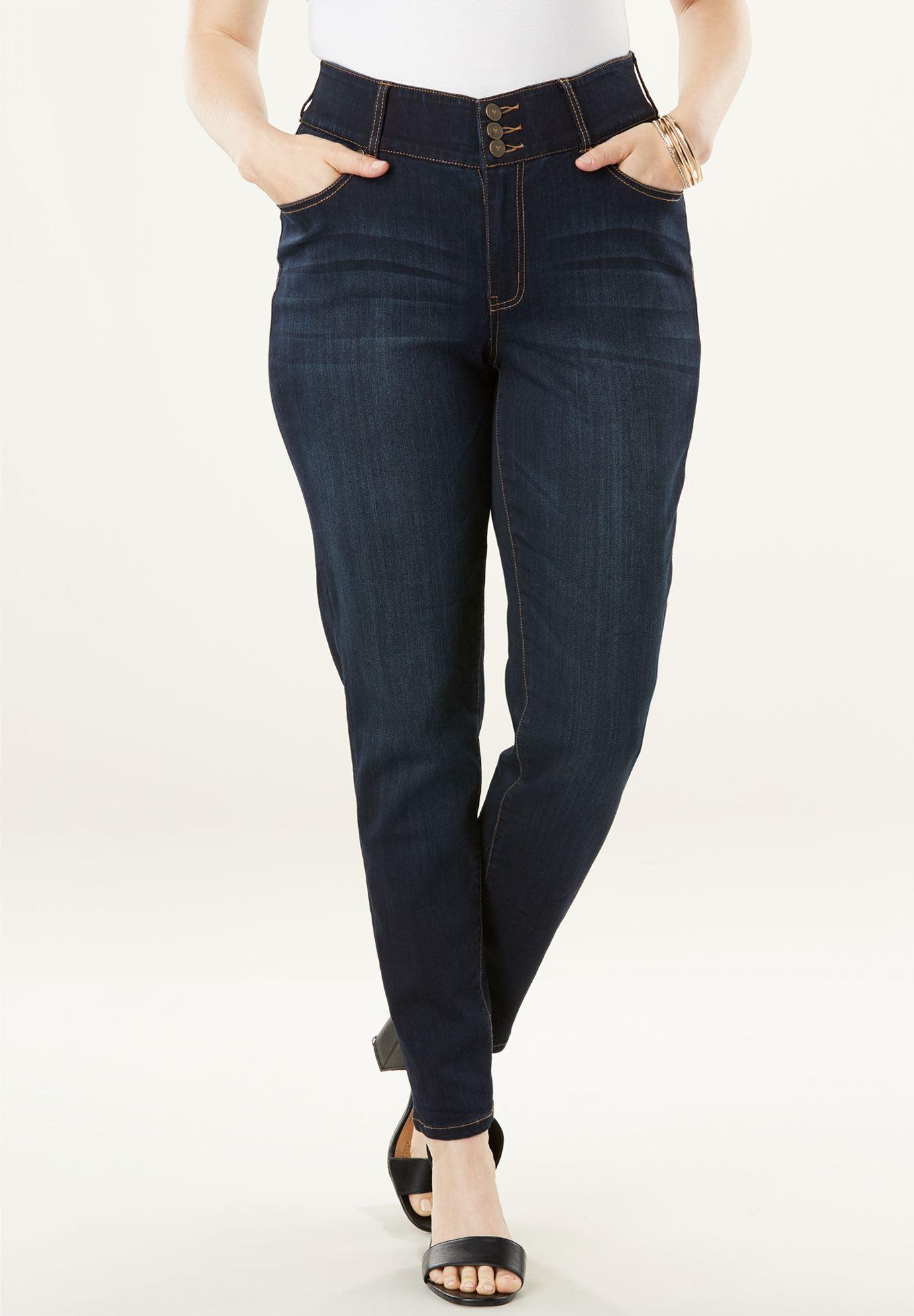 The Curvy Skinny Jean By Denim 24 7R