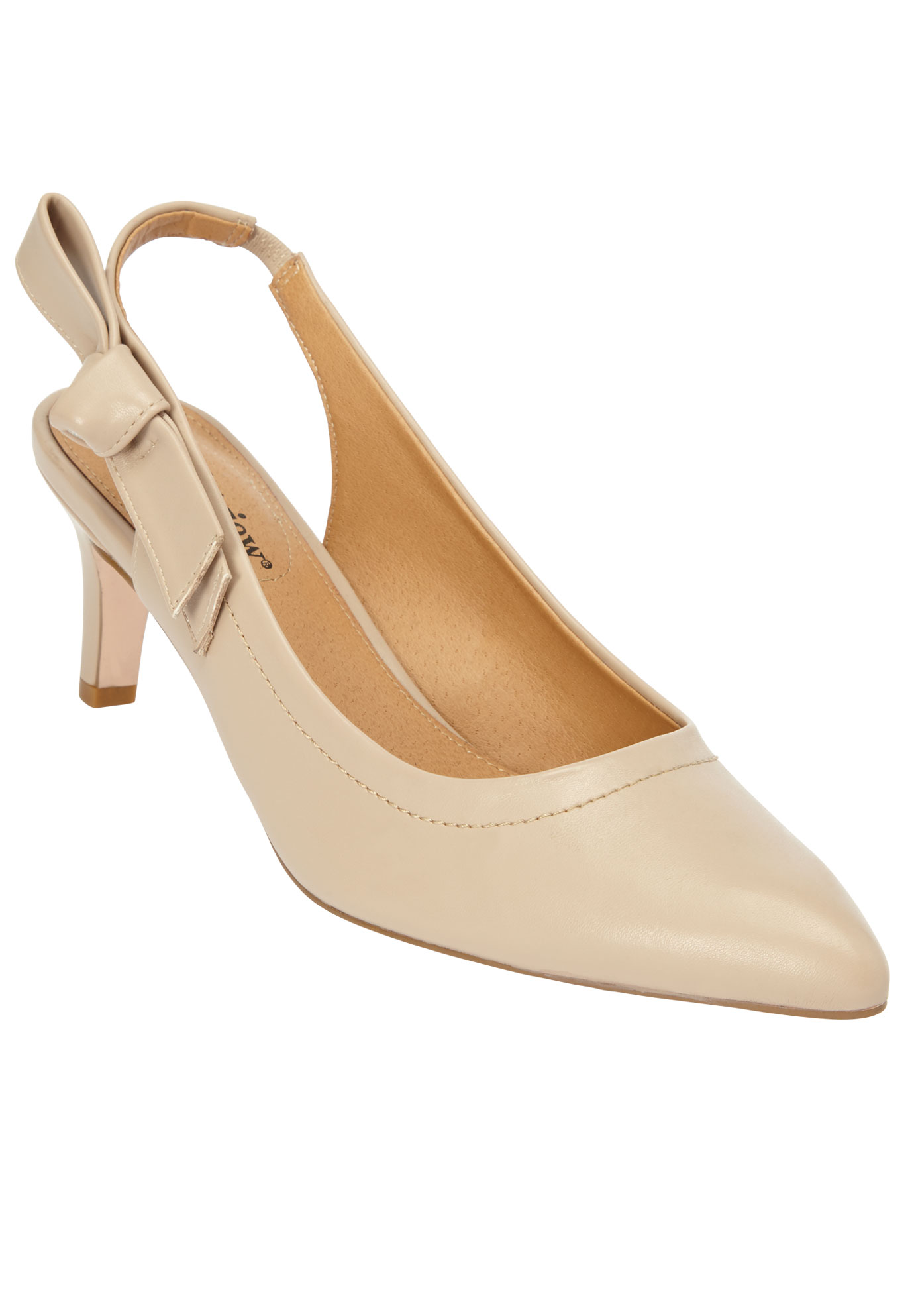 The Anita Slingback Pump by Comfortview®,