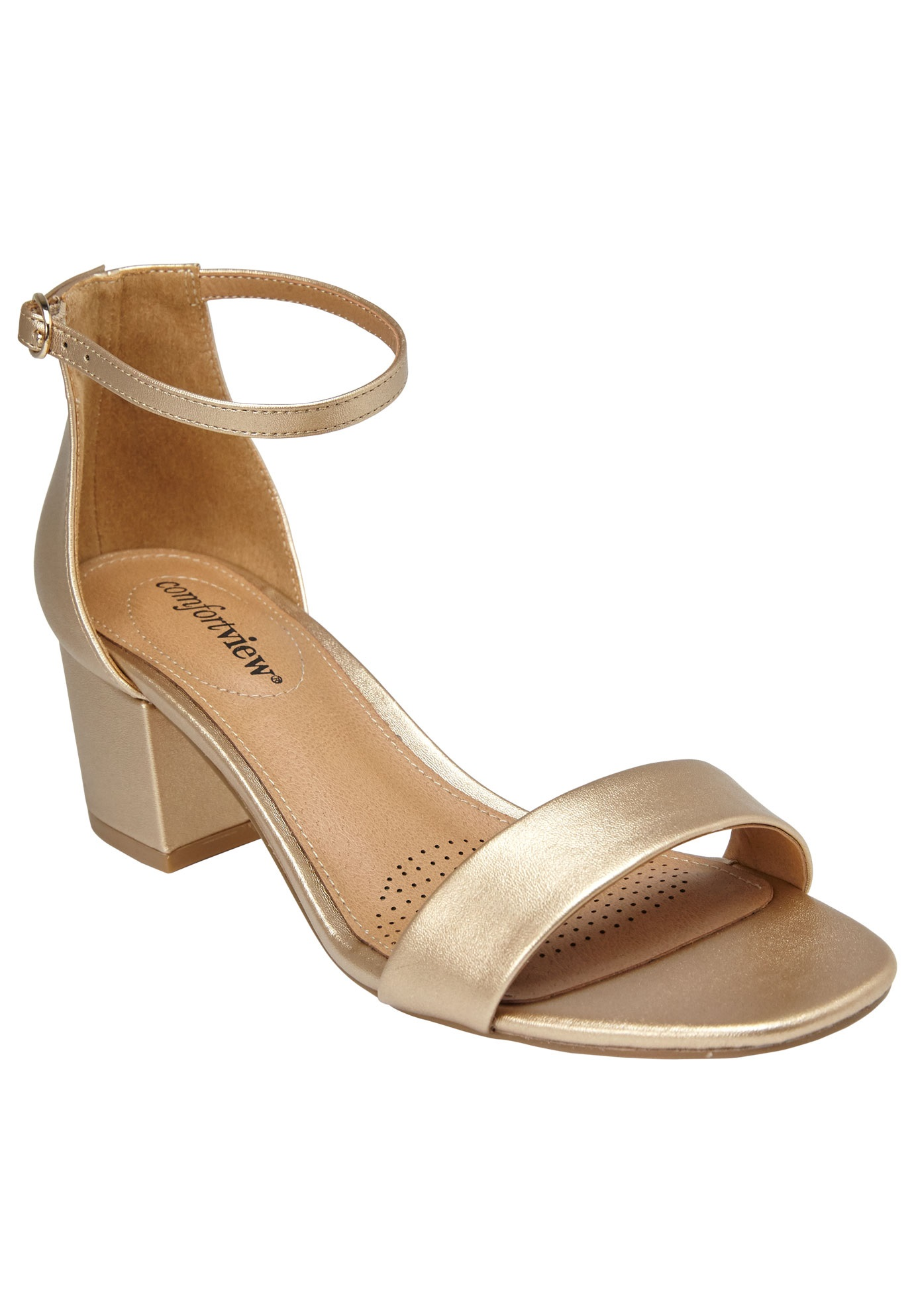 orly sandals by comfortview plus size dress sandals full beauty
