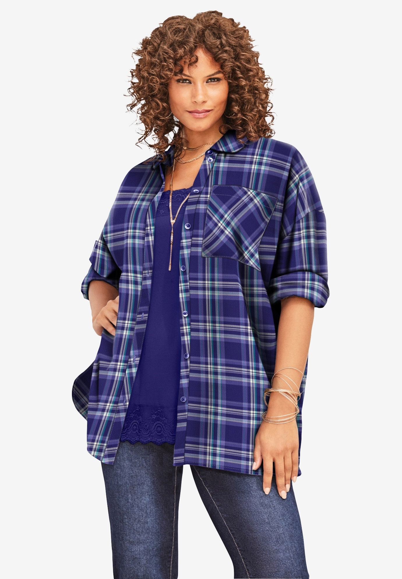 Flannel Tunic,