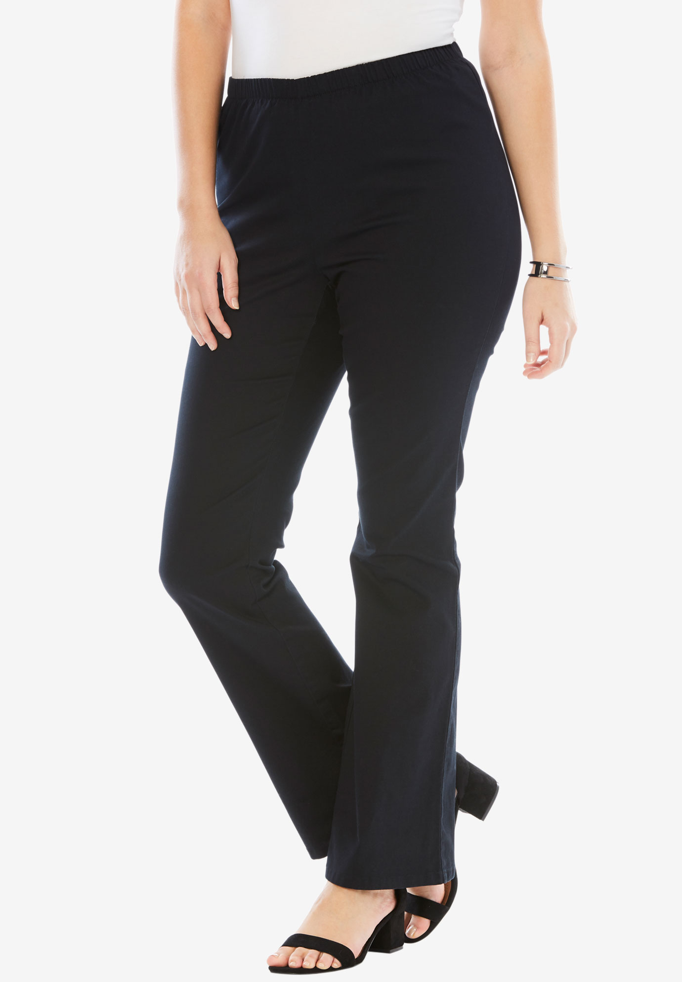 6f4097bb4d Bootcut Pull-On Stretch Jean by Denim 24/7®| Plus Size Pants | Full ...