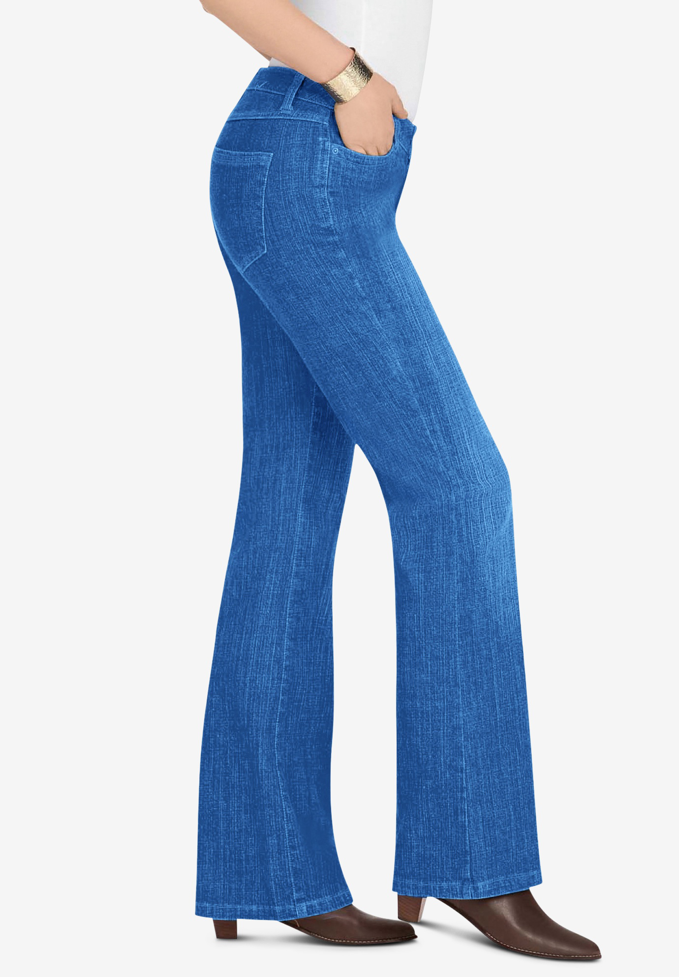 075a52febee Bootcut Jean with Invisible Stretch® by Denim 24 7®