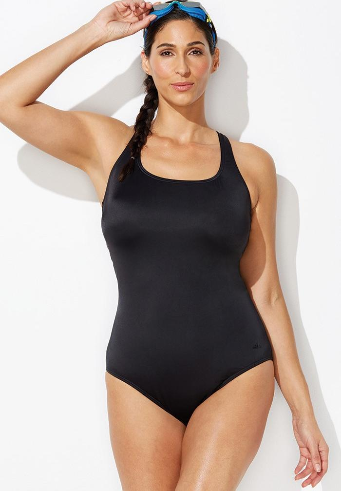 Cross back maillot by Aquabelle,