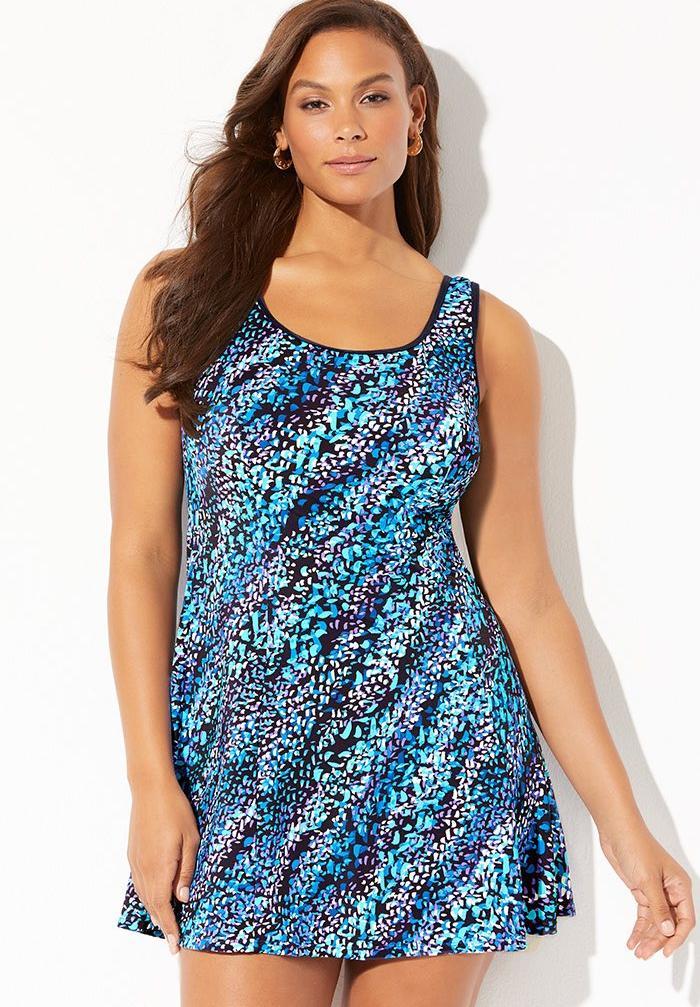 Swimdress by Aquabelle®  Plus Size Swim Dresses   Fullbeauty