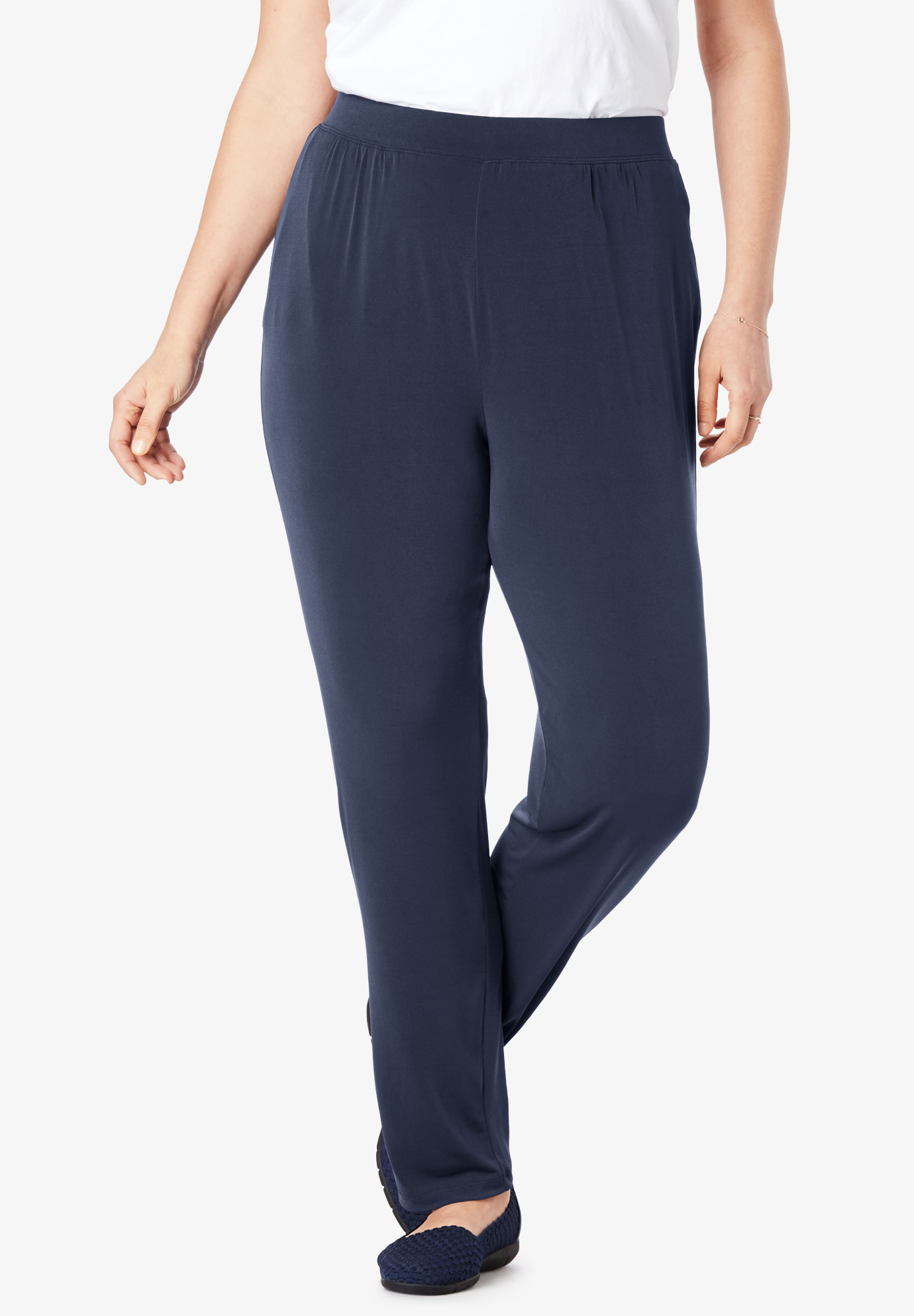 Best Dressed® Essential Slim Leg Pant,