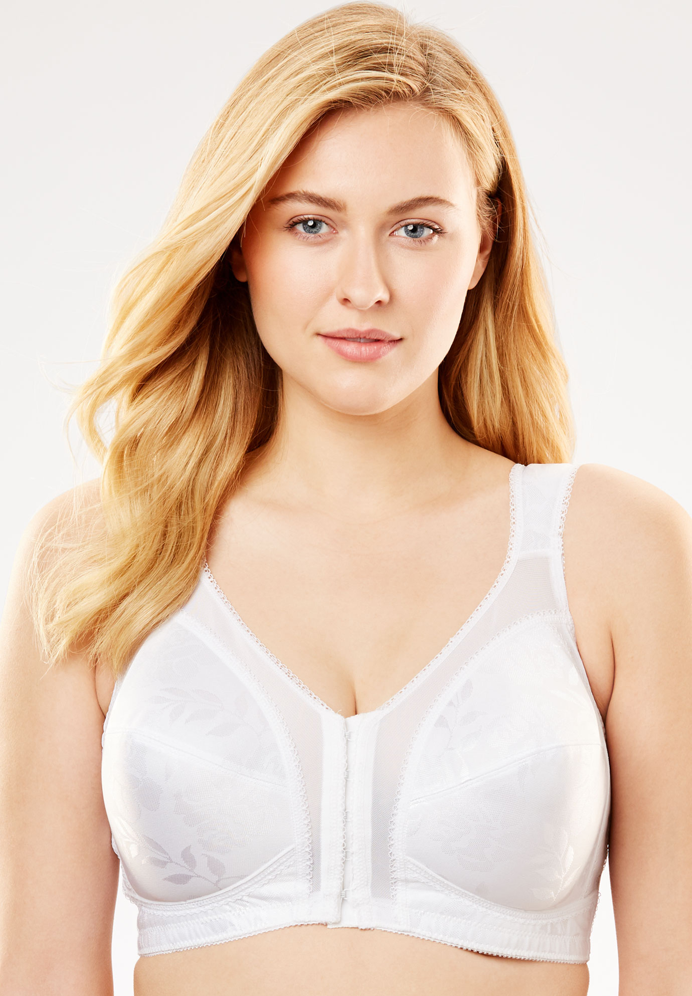 bbe3a009e4c Playtex® 18 Hour Front-Close Wireless Bra with Flex Back  4695