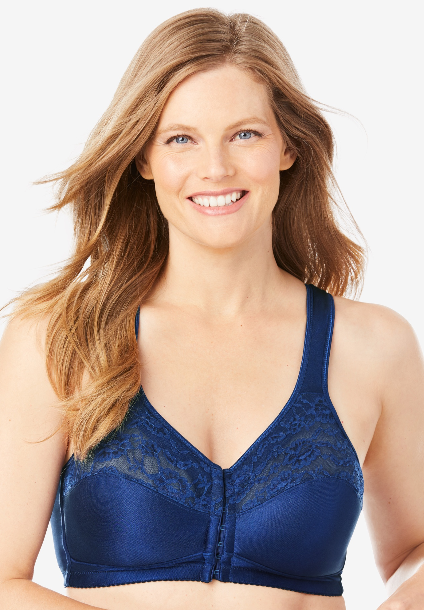 Easy Enhancer® Front-Close Wireless Bra by Comfort Choice®,