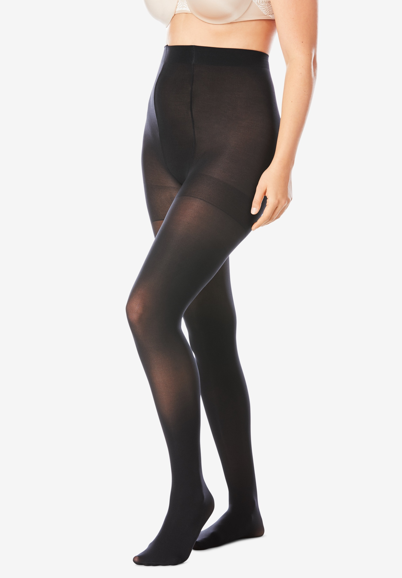 2-Pack Smoothing Tights by Comfort Choice®,