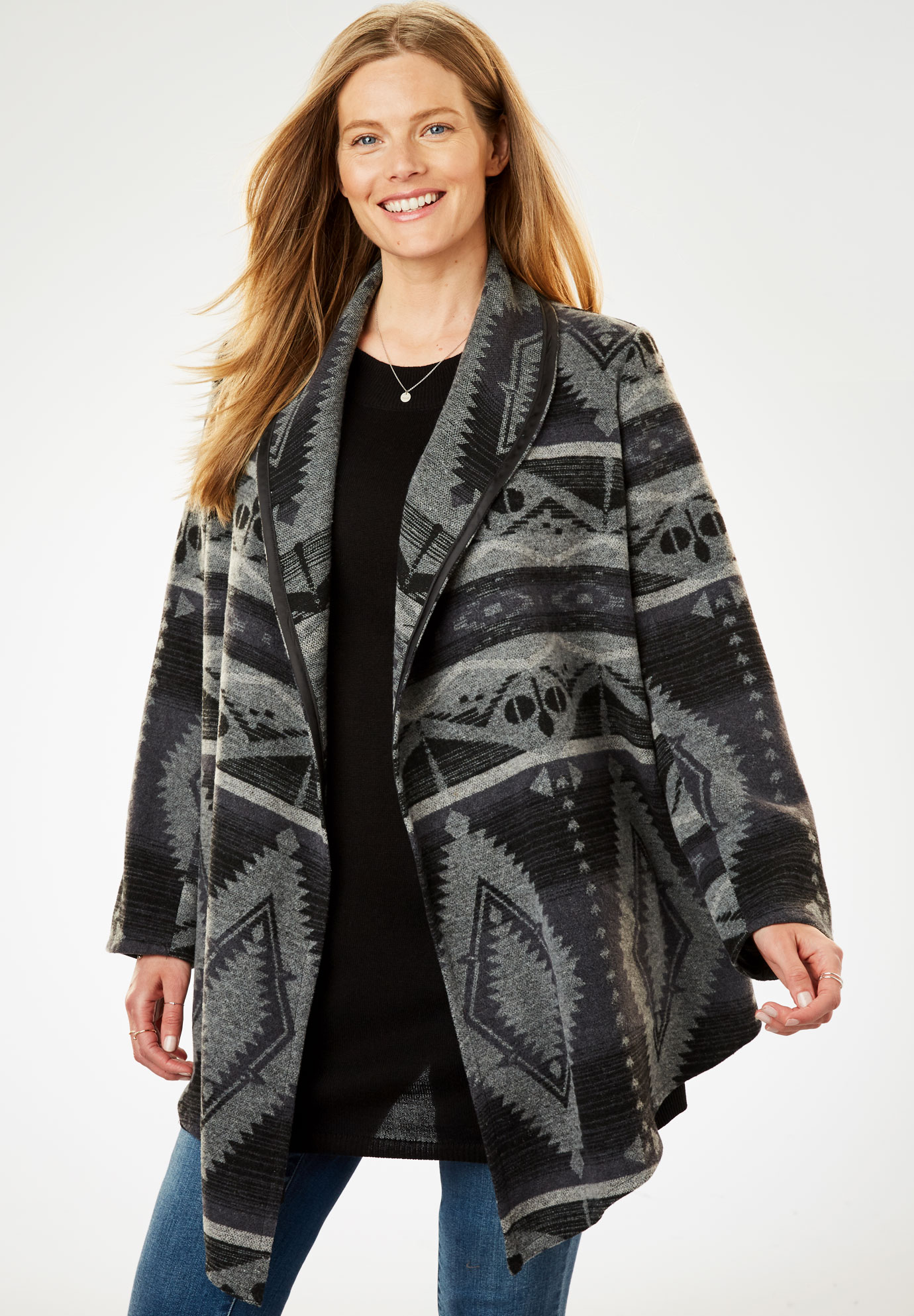 Graphic Cascade Jacket,
