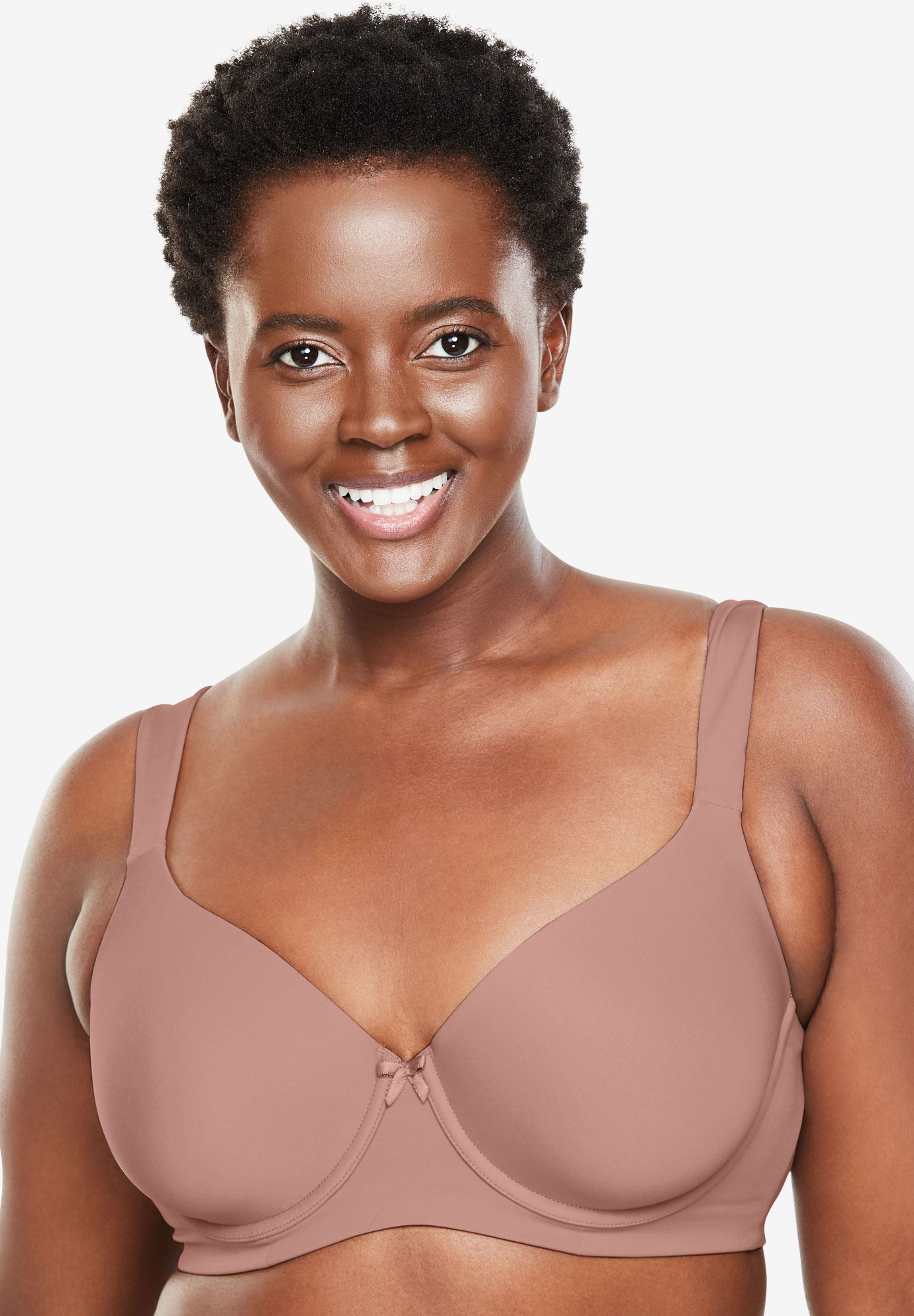 f1972ed275866 Balconette Underwire T-Shirt Bra by Leading Lady®
