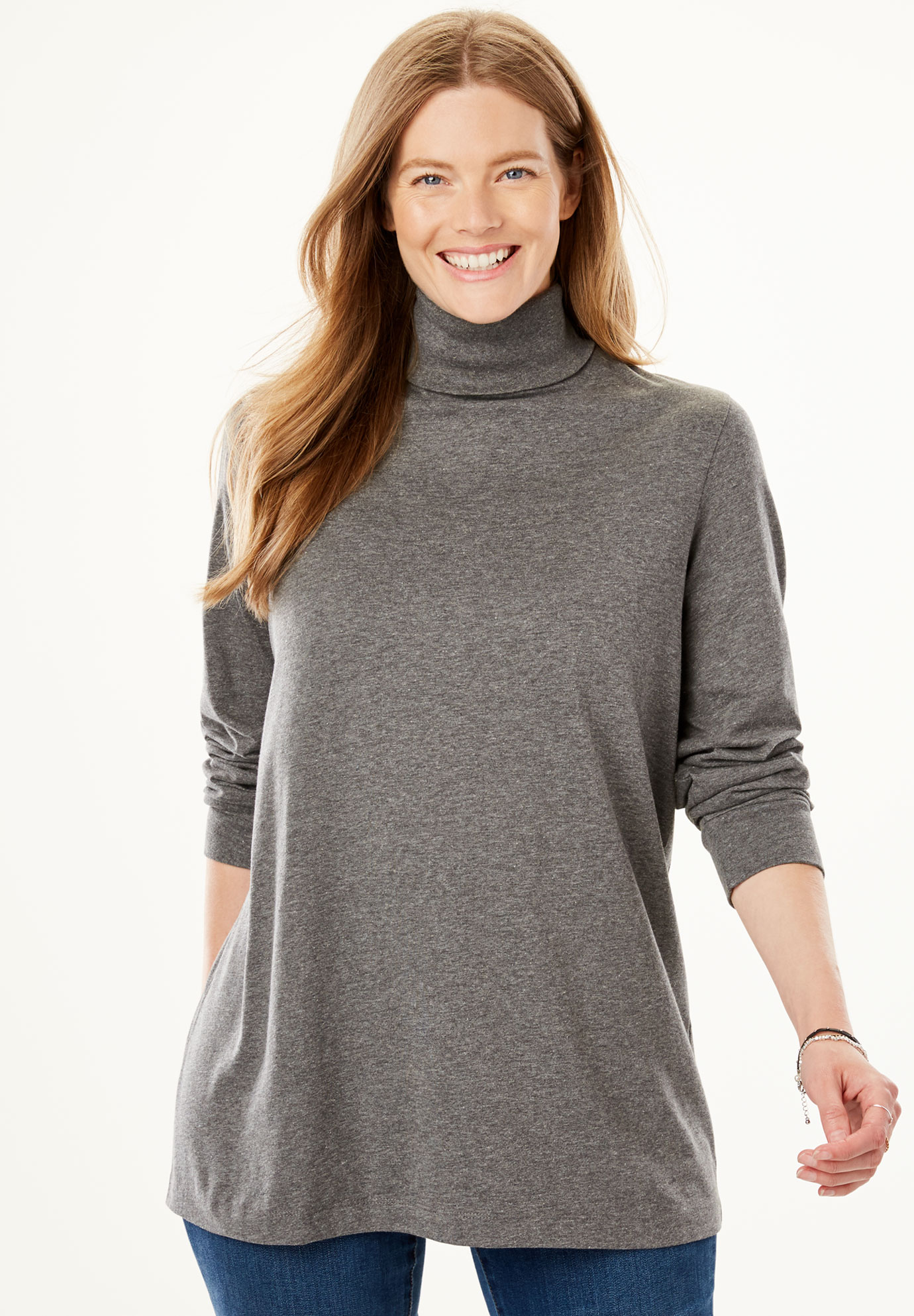 01a58860278 Perfect Long Sleeve Turtleneck