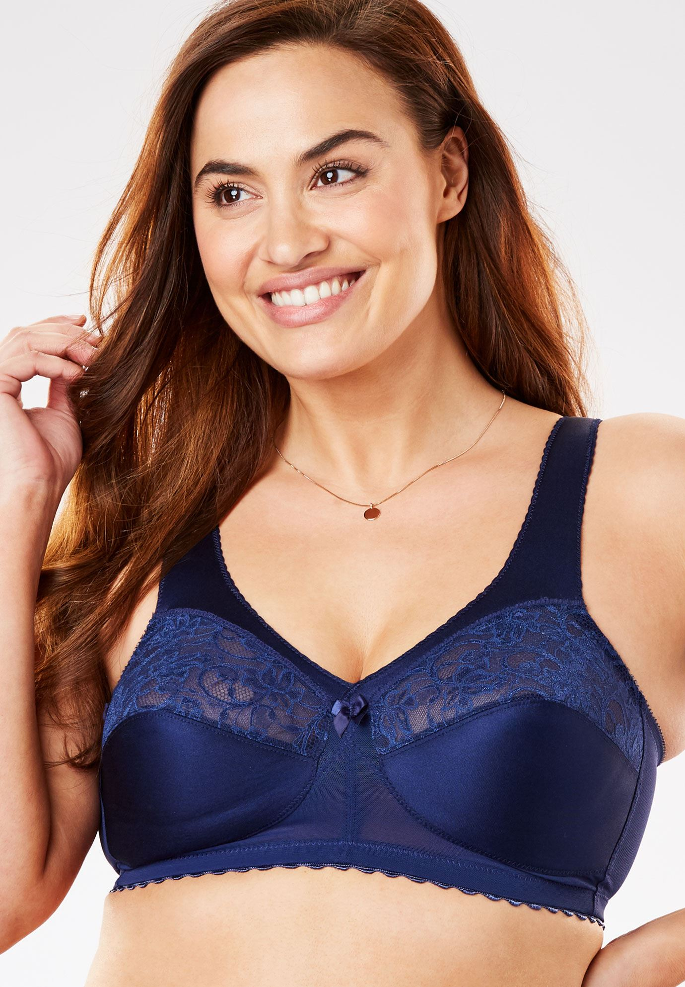 Magic Lift® Soft Cup Shoulder Comfort Bra by Glamorise®,