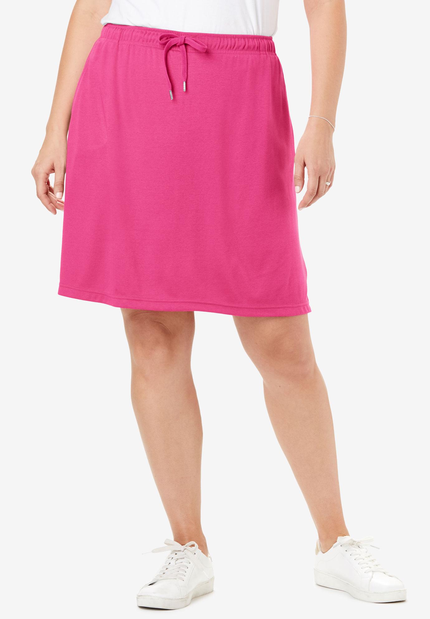 d03afac042 Sport Knit Skort| Plus Size Skirts | Full Beauty