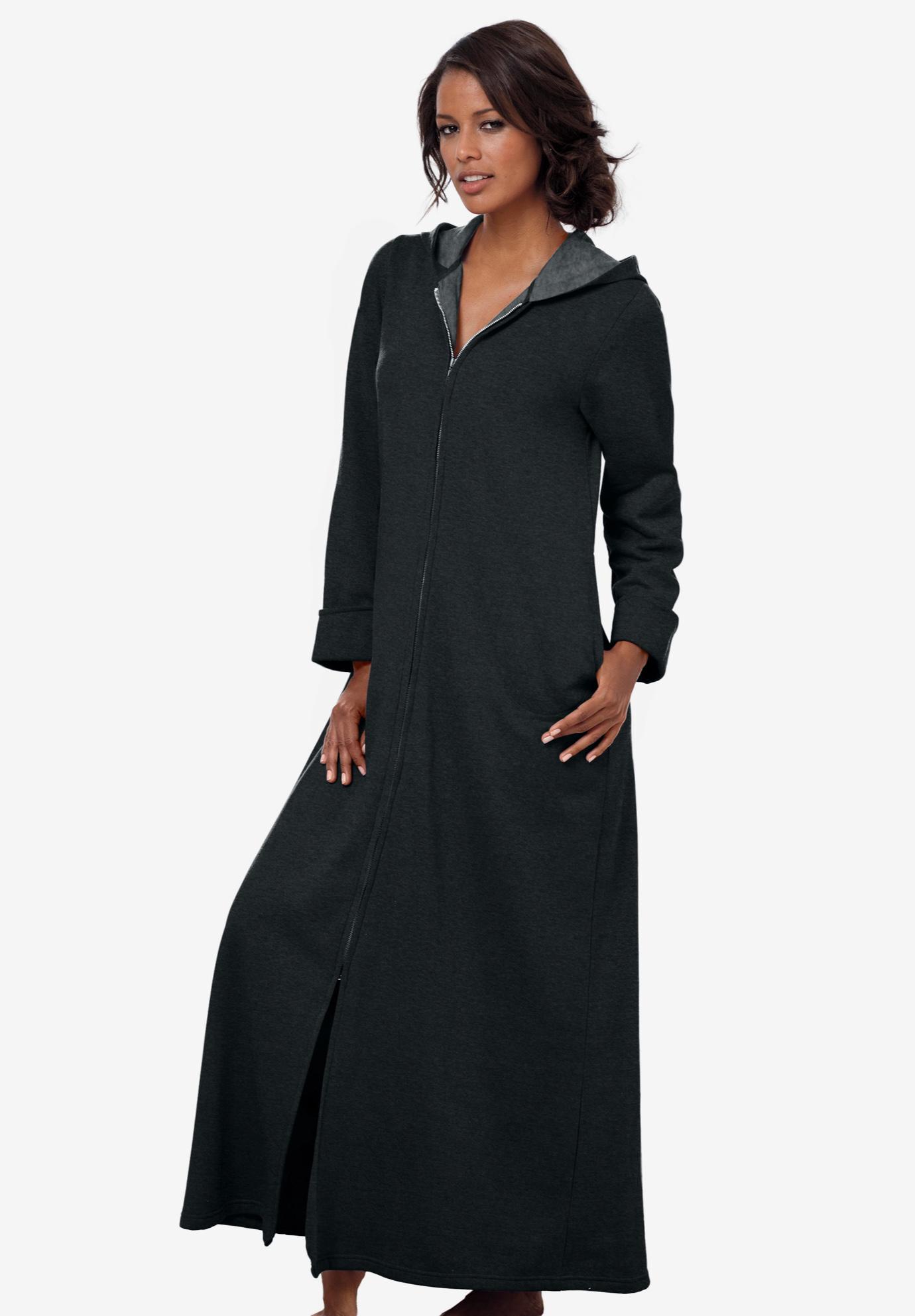 a02b136fff Hooded Fleece Robe by Dreams   Co.®