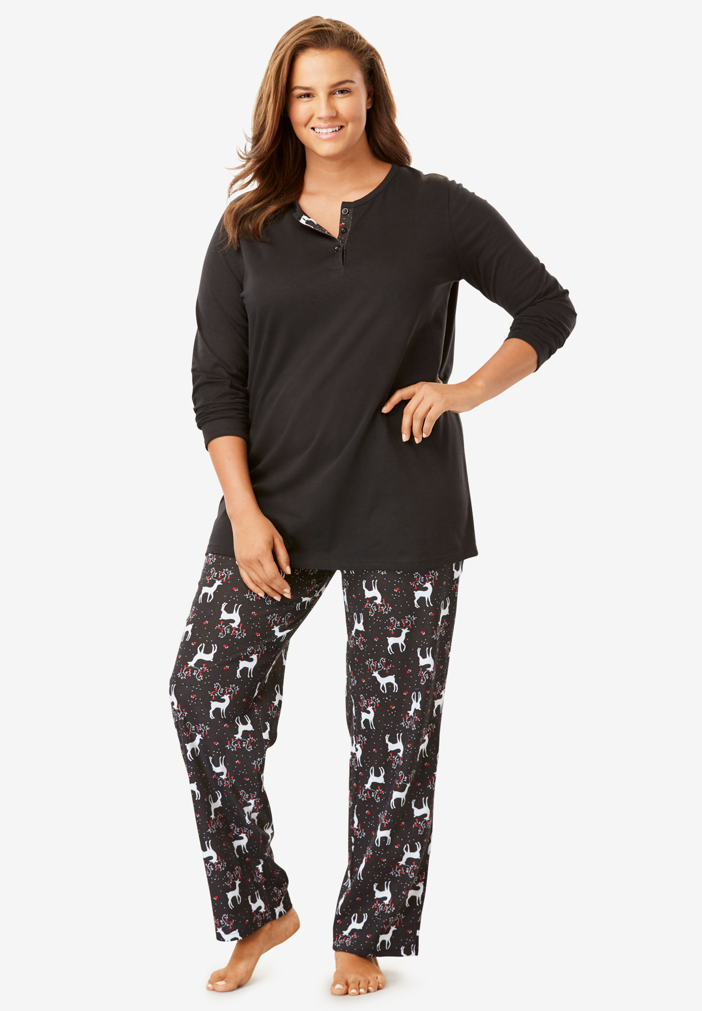 dbdd5d1bb280e 2-Piece PJ Set by Only Necessities®