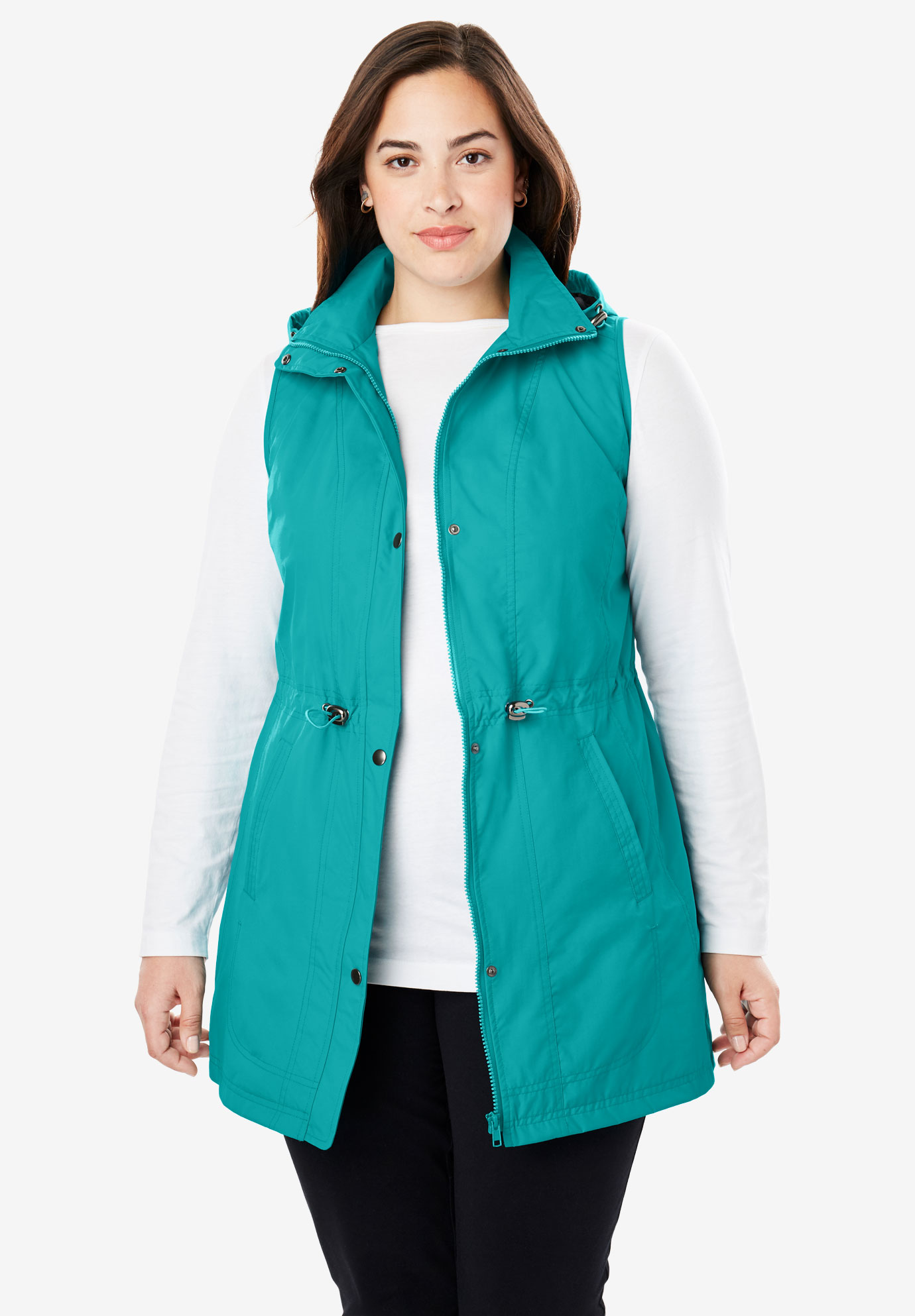 Taslon® Hooded Vest,