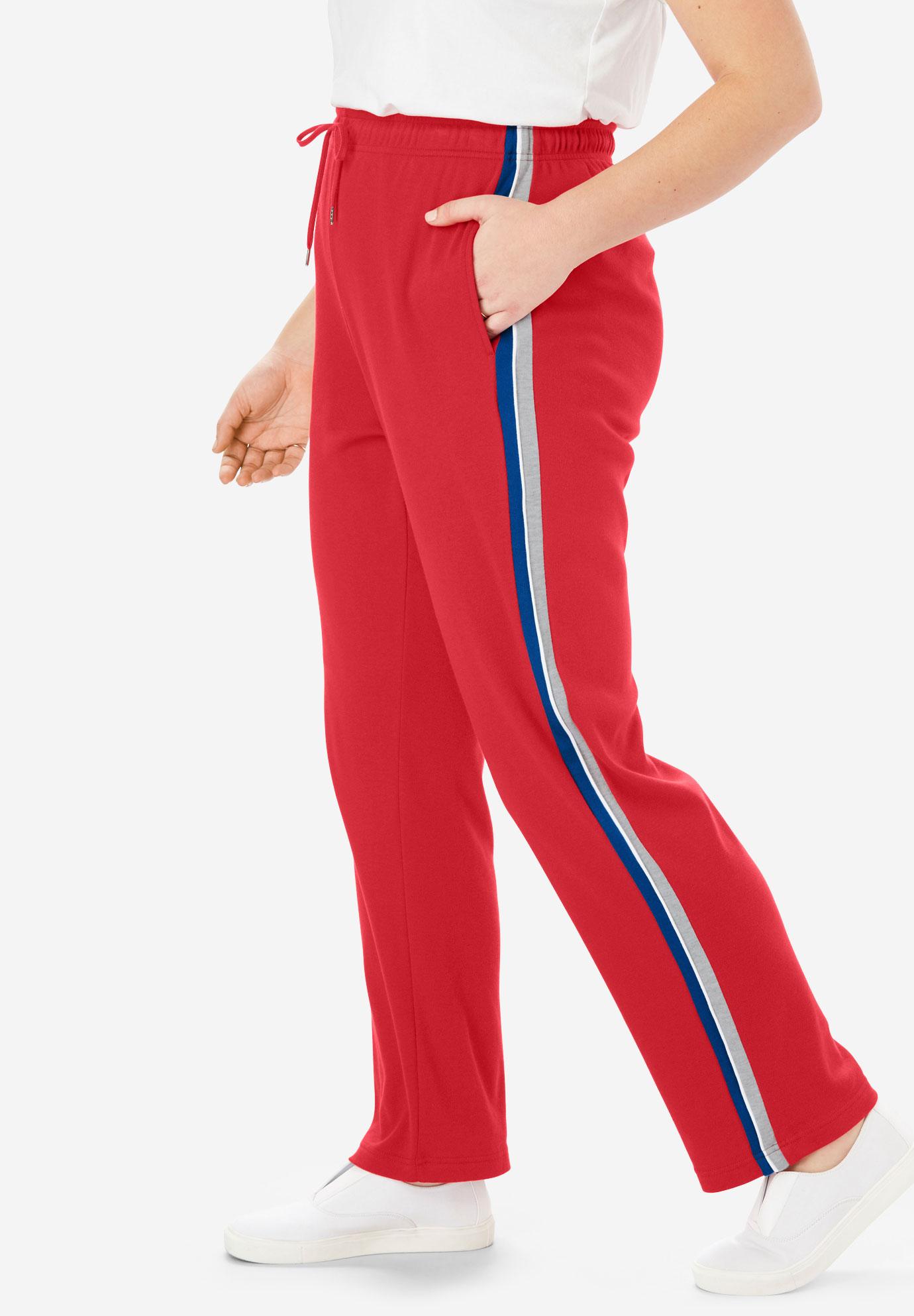 6067774fd134d Sport Knit Side-Stripe Pant
